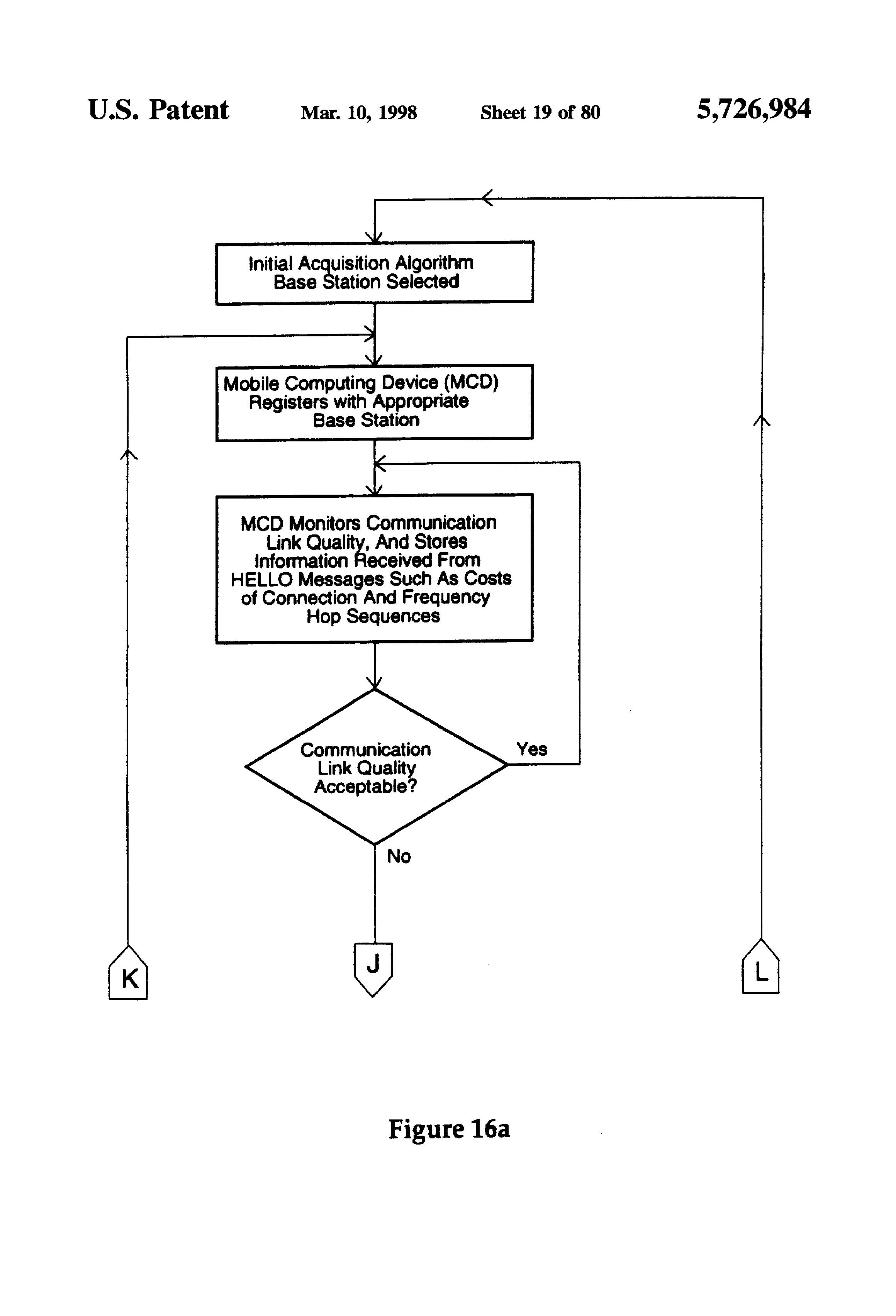 patent us5726984 hierarchical data collection network supporting