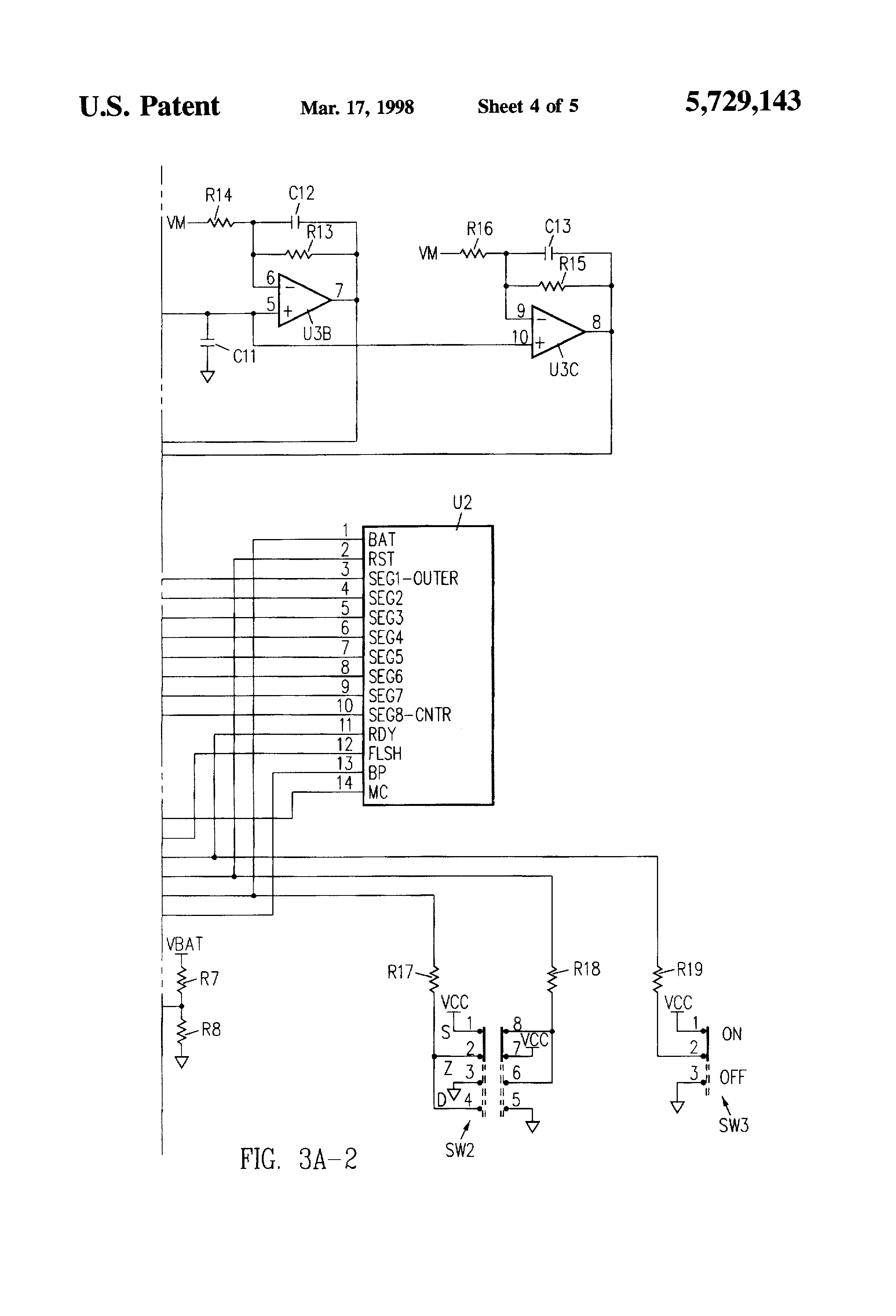 US5729143 4 patent us5729143 metal detector with nulling of imbalance safeline metal detector wiring diagram at mifinder.co
