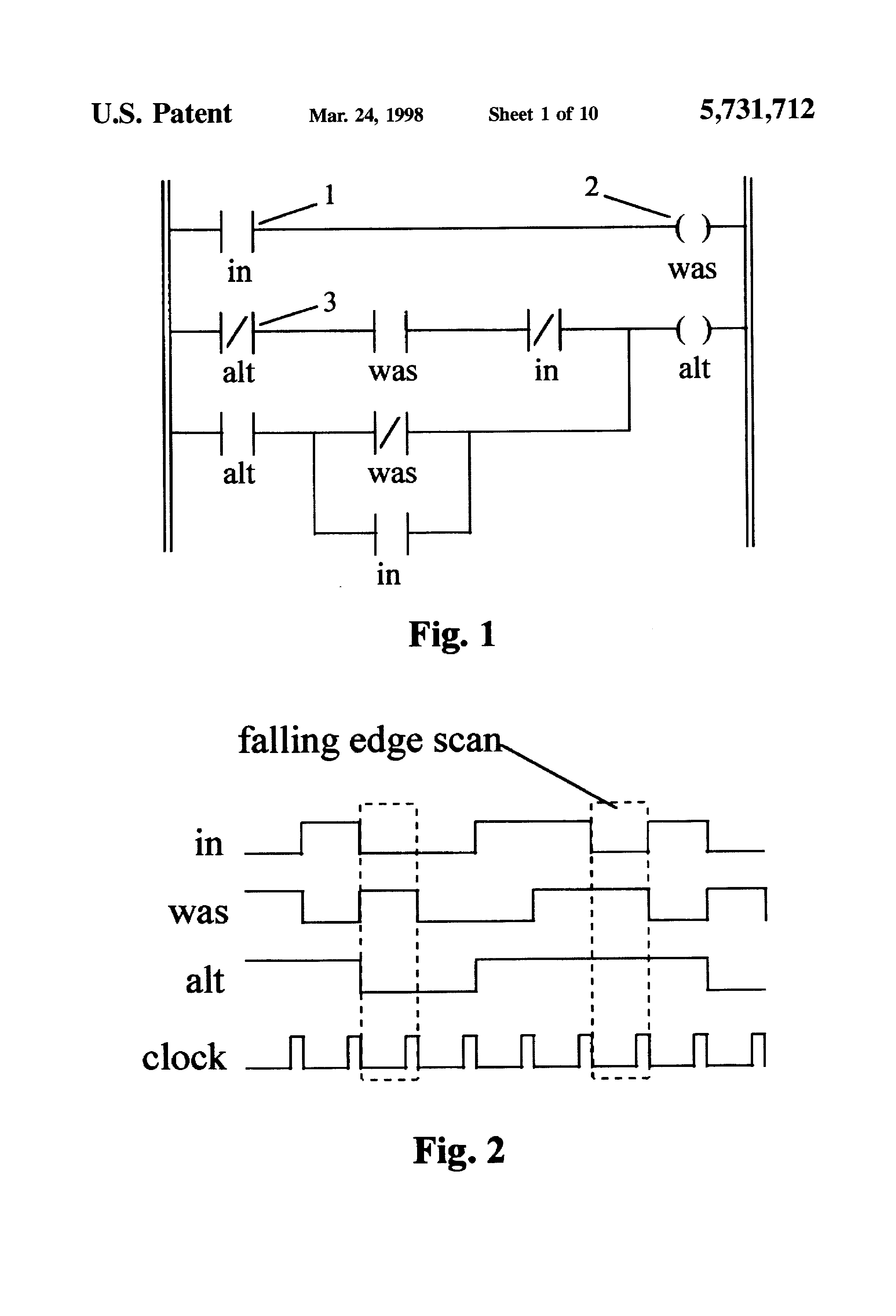 patent us5731712 programmable gate array for relay ladder logic patents