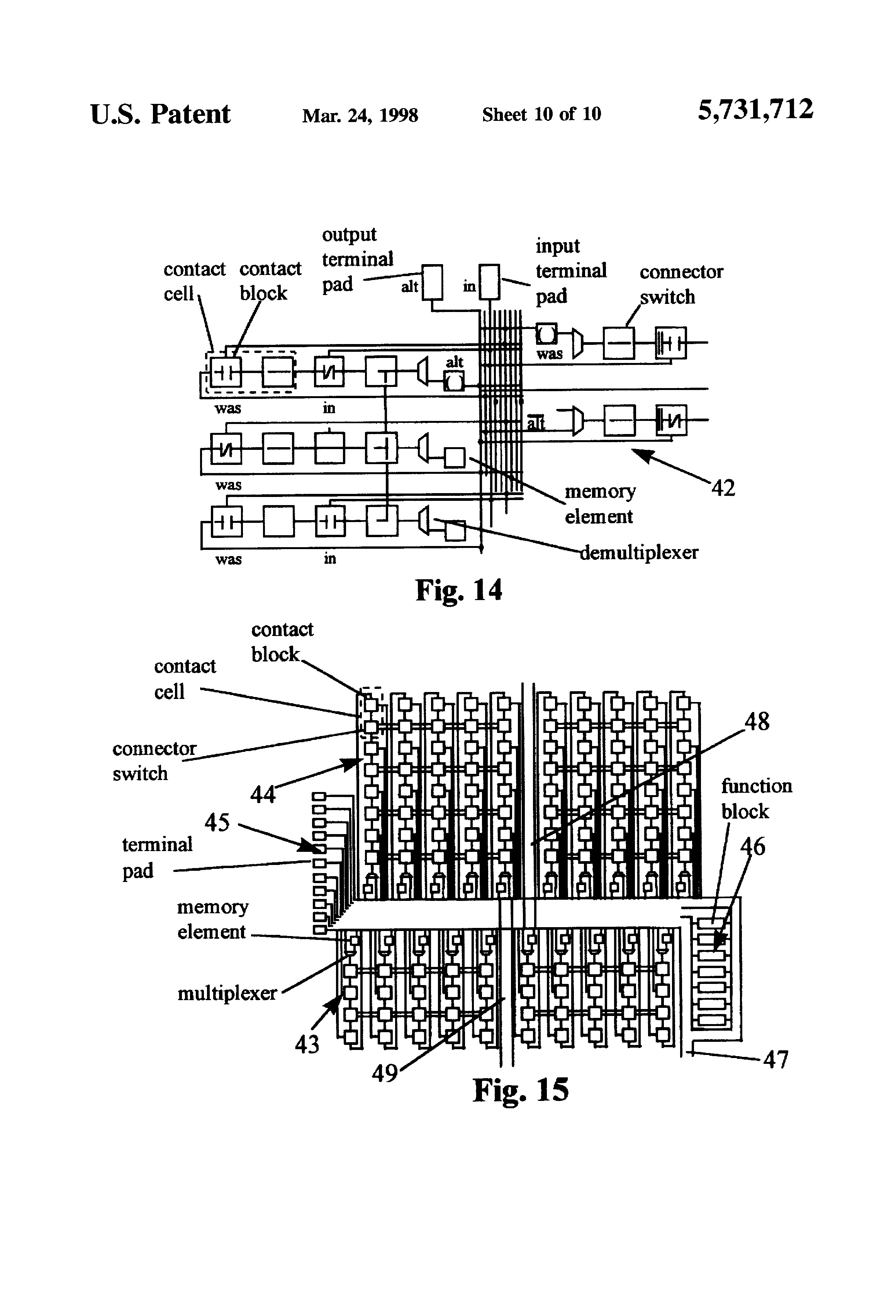Patent US Programmable Gate Array For Relay Ladder Logic - Electromechanical relay logic