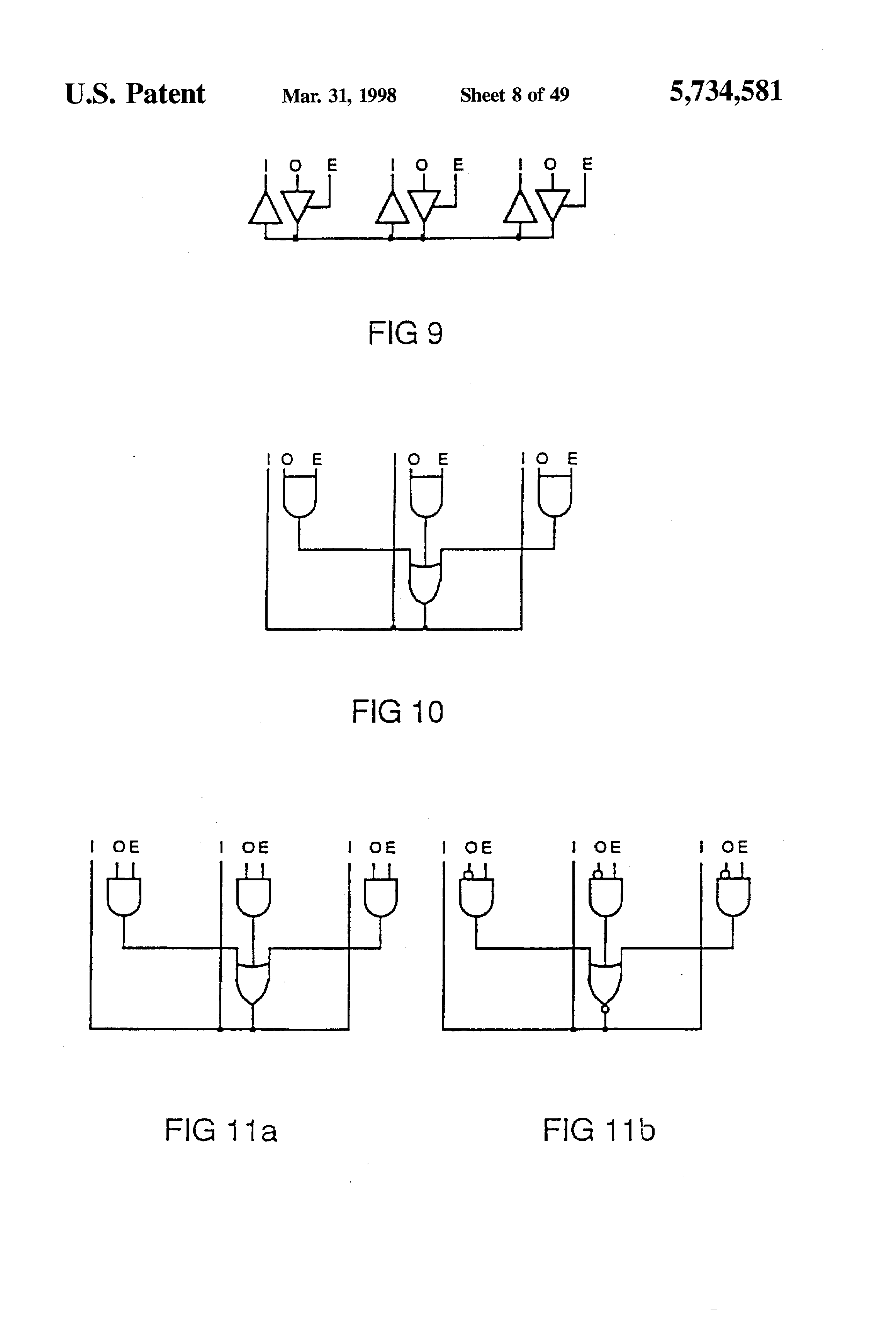 Patent Us5734581 Method For Implementing Tri State Nets In A Logic Here Is Logicsim Circuit File Full Adder Click Drawing