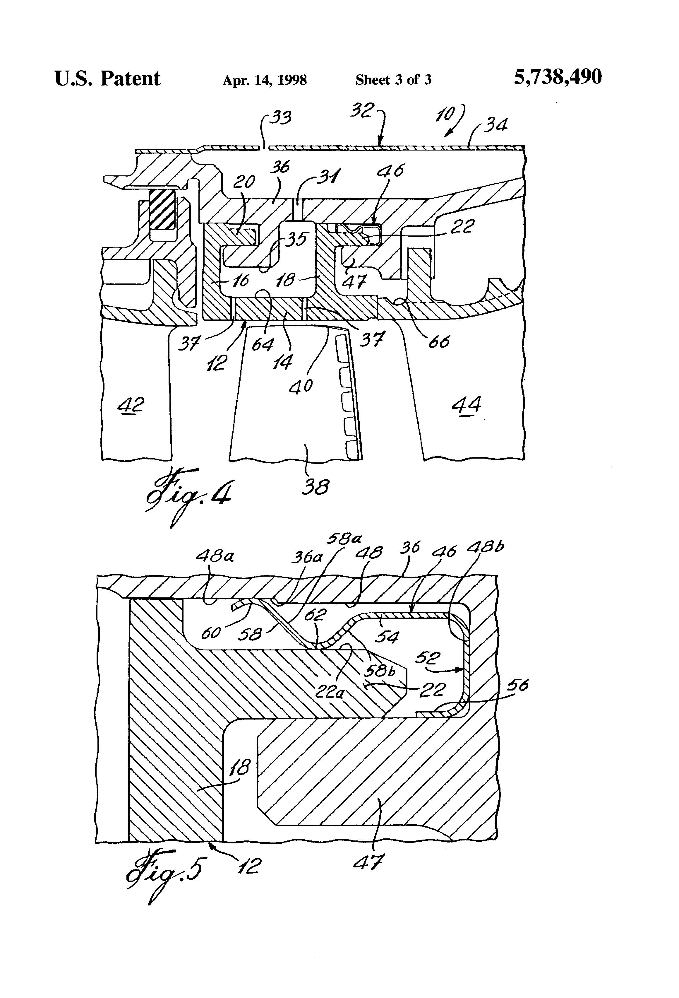 Patent US Gas turbine engine shroud seals Google Patents
