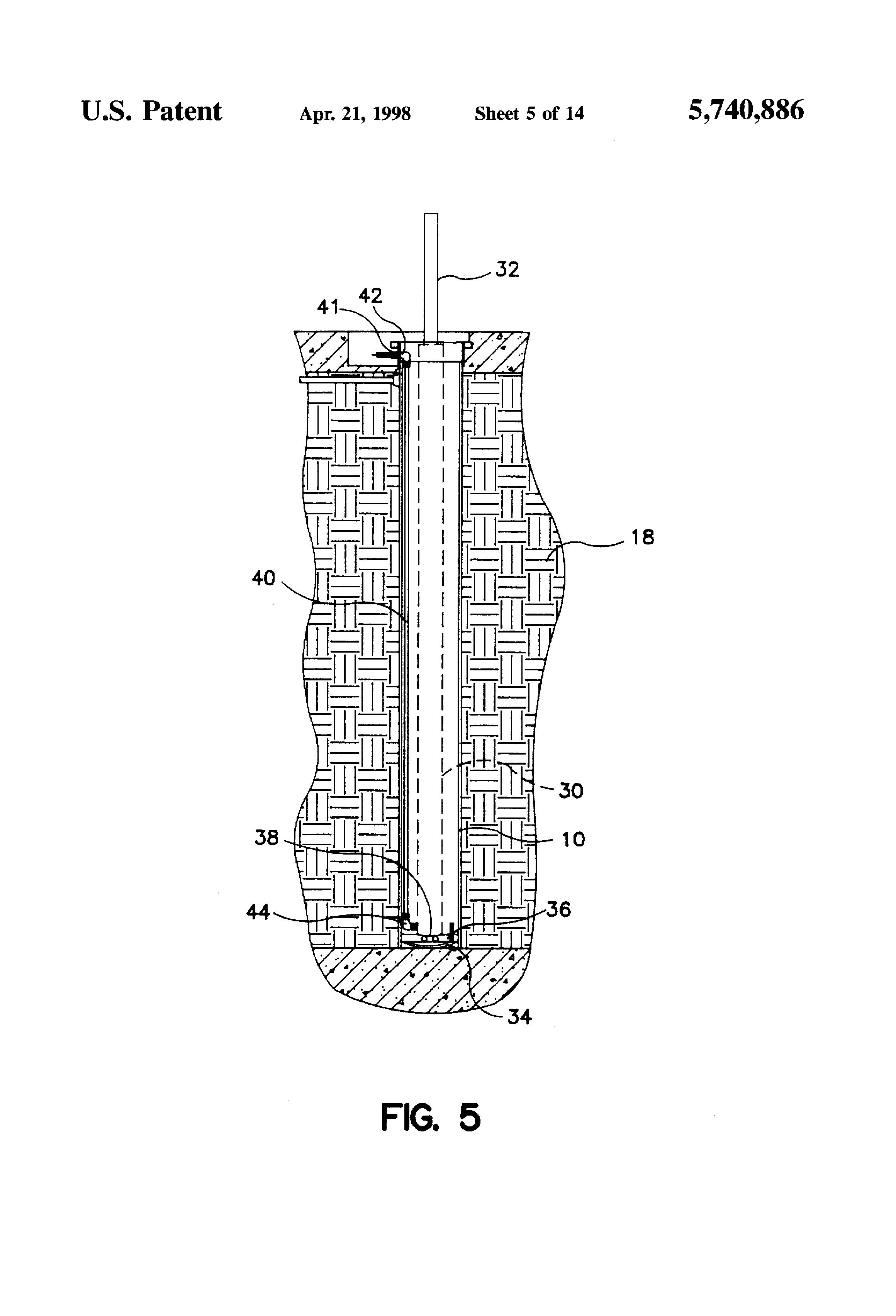 Patent Us5740886 Method Of Retrofit In Ground Automotive Lift Vbm Challenger Lifts Wiring Diagrams Drawing