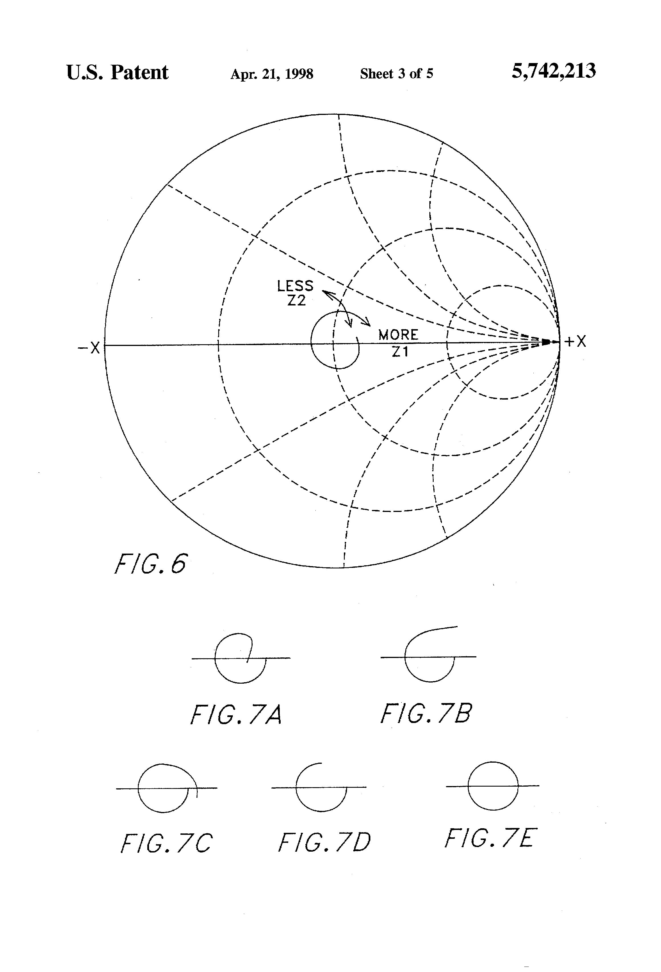 Patent Us5742213 Unbalanced To Balanced High Impedance Ratio Figure 2 Transformercircuit Diagram Drawing