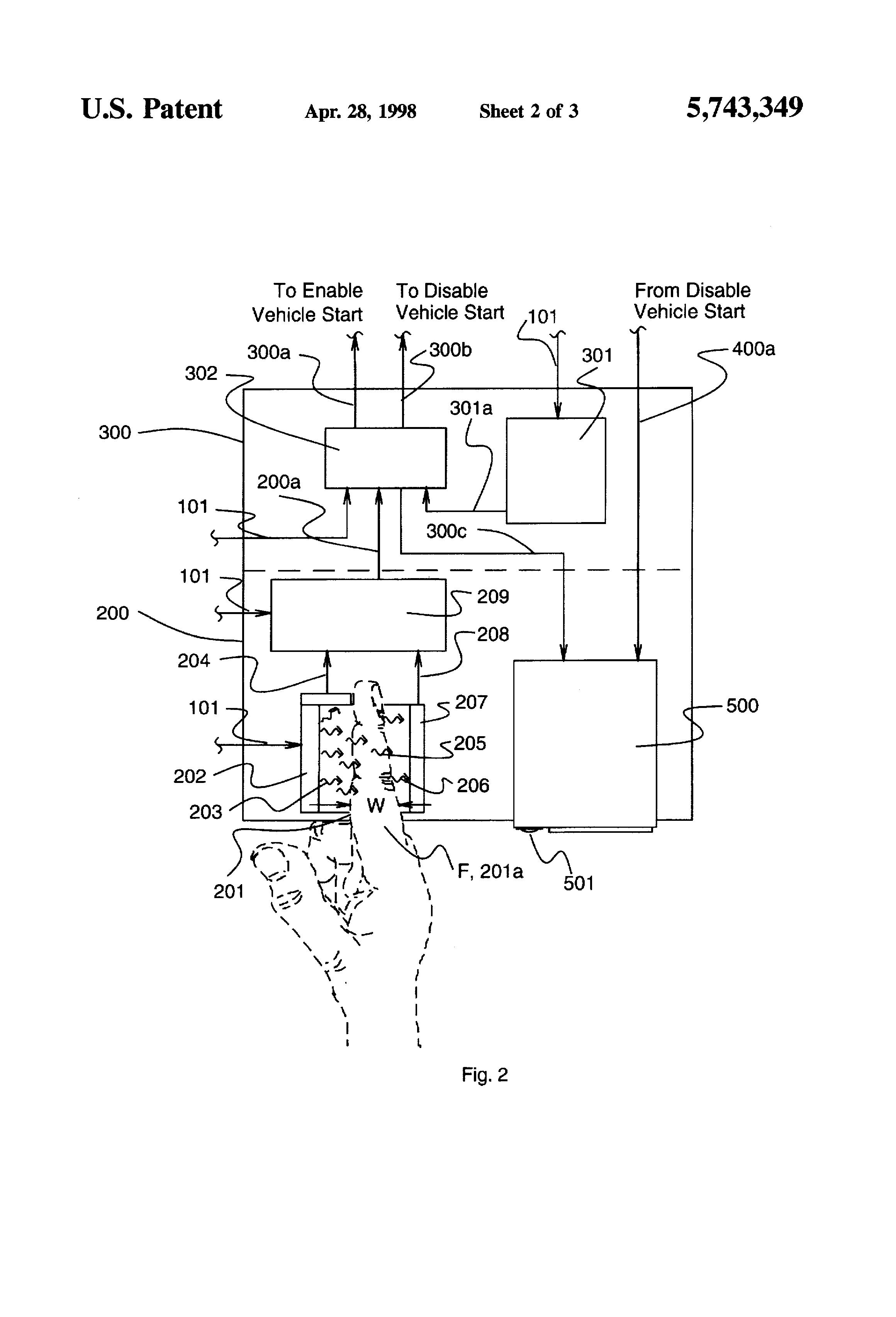 US5743349 2 patent us5743349 non invasive optical blood alcohol on monitech ignition interlock wiring diagram volvo