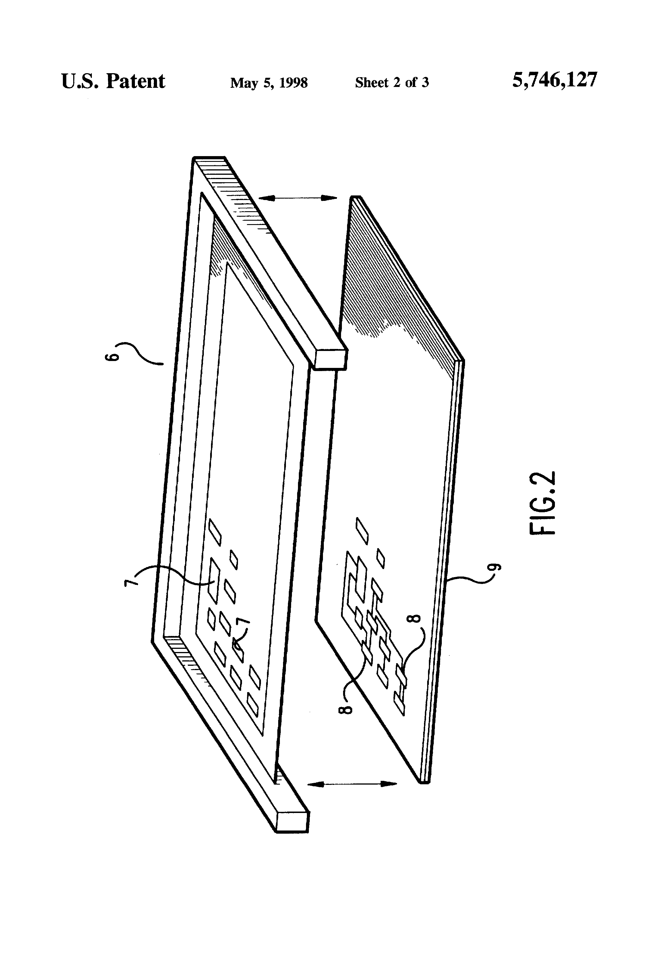 patent us5746127 - electroformed squeegee blade for surface mount screen printing