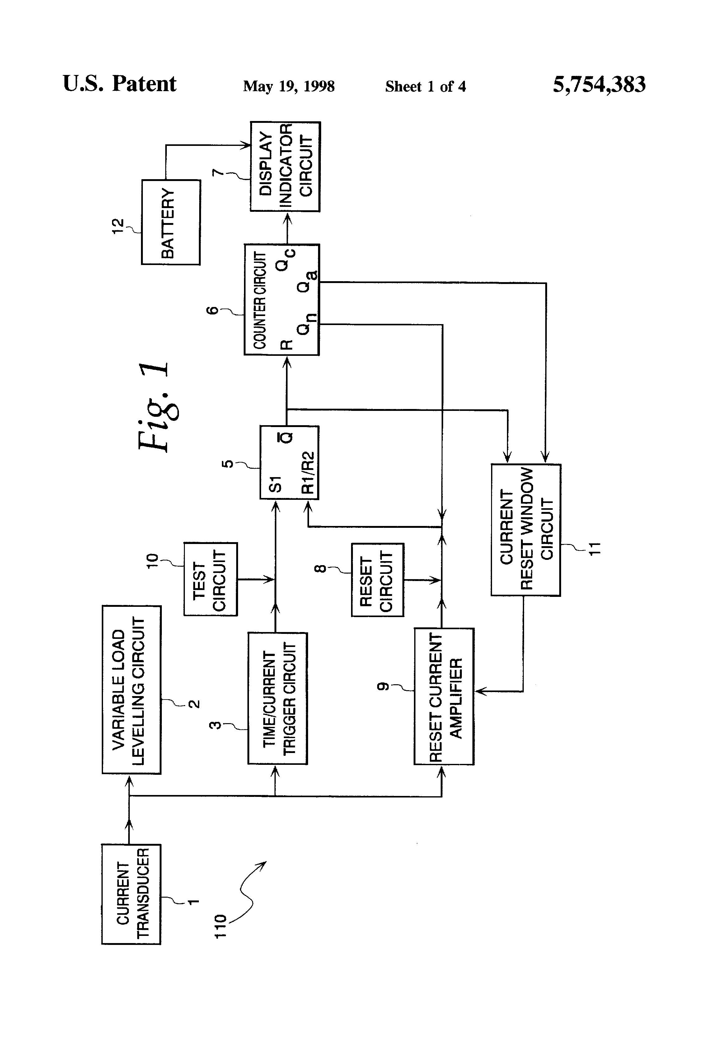 patent us5754383