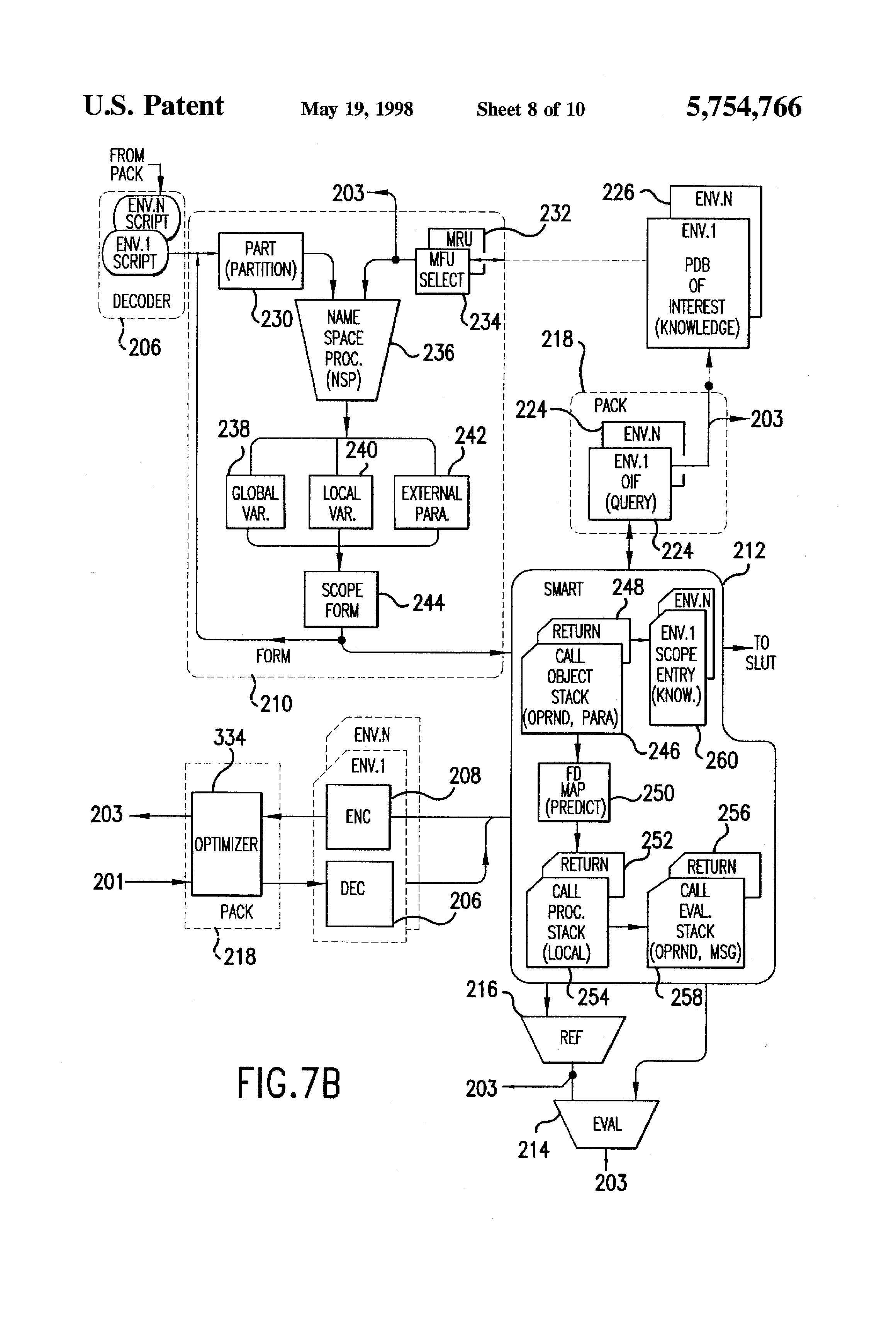 patent us5754766 - integrated circuit system for direct document execution