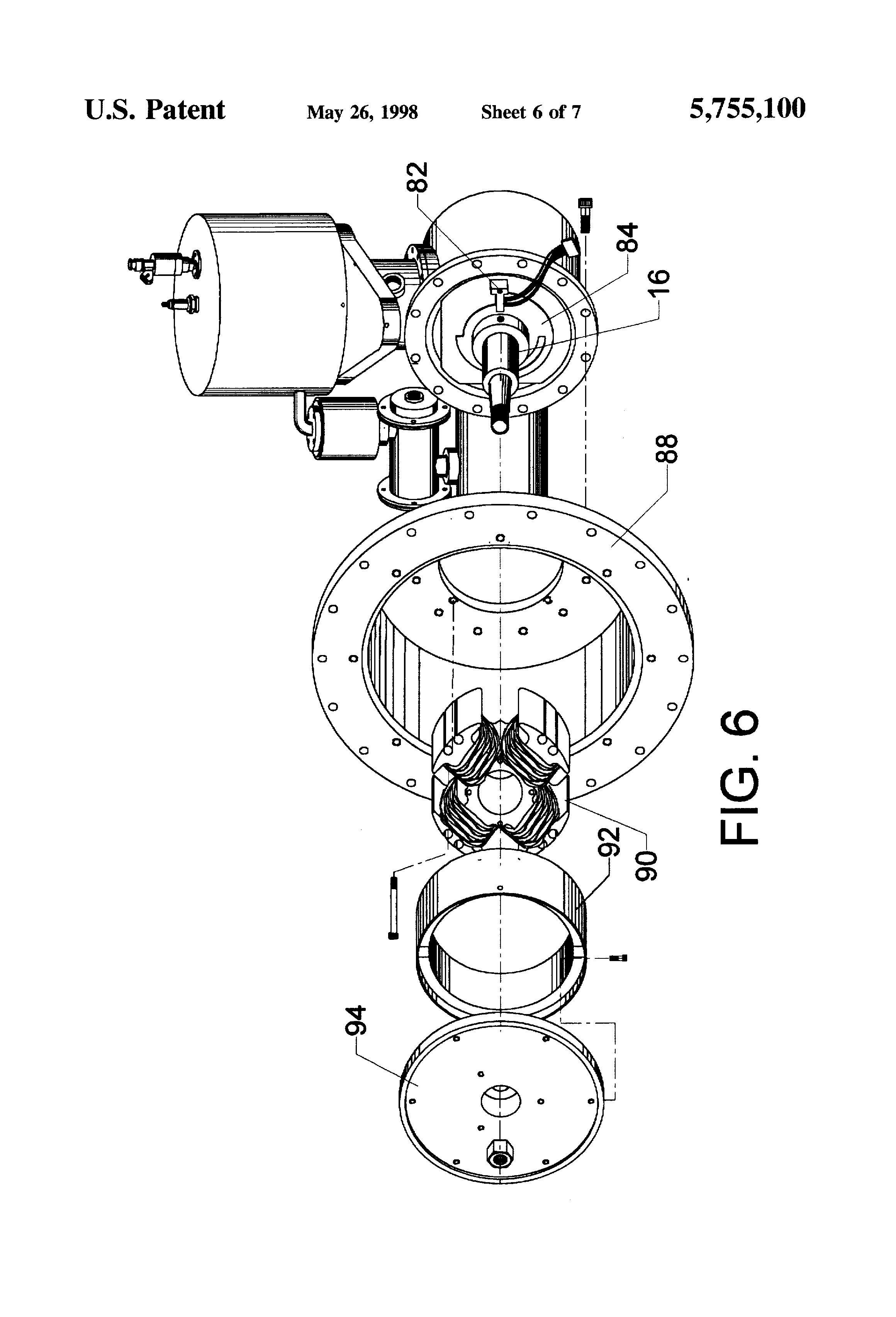 US5755100 on Free Piston Stirling Engine