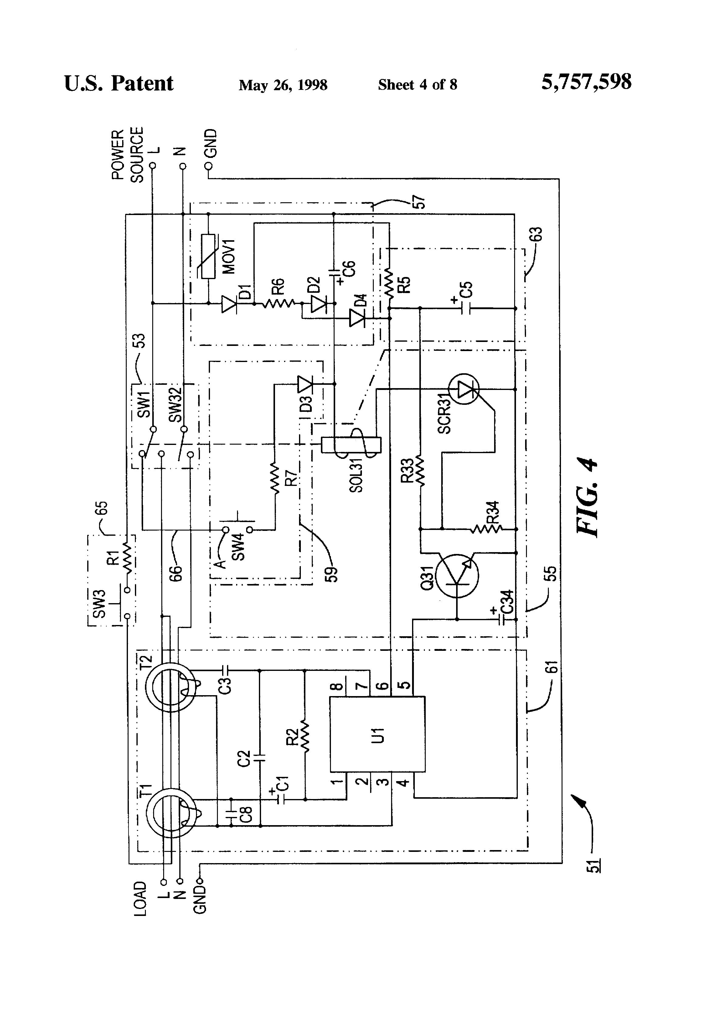 patent us5757598