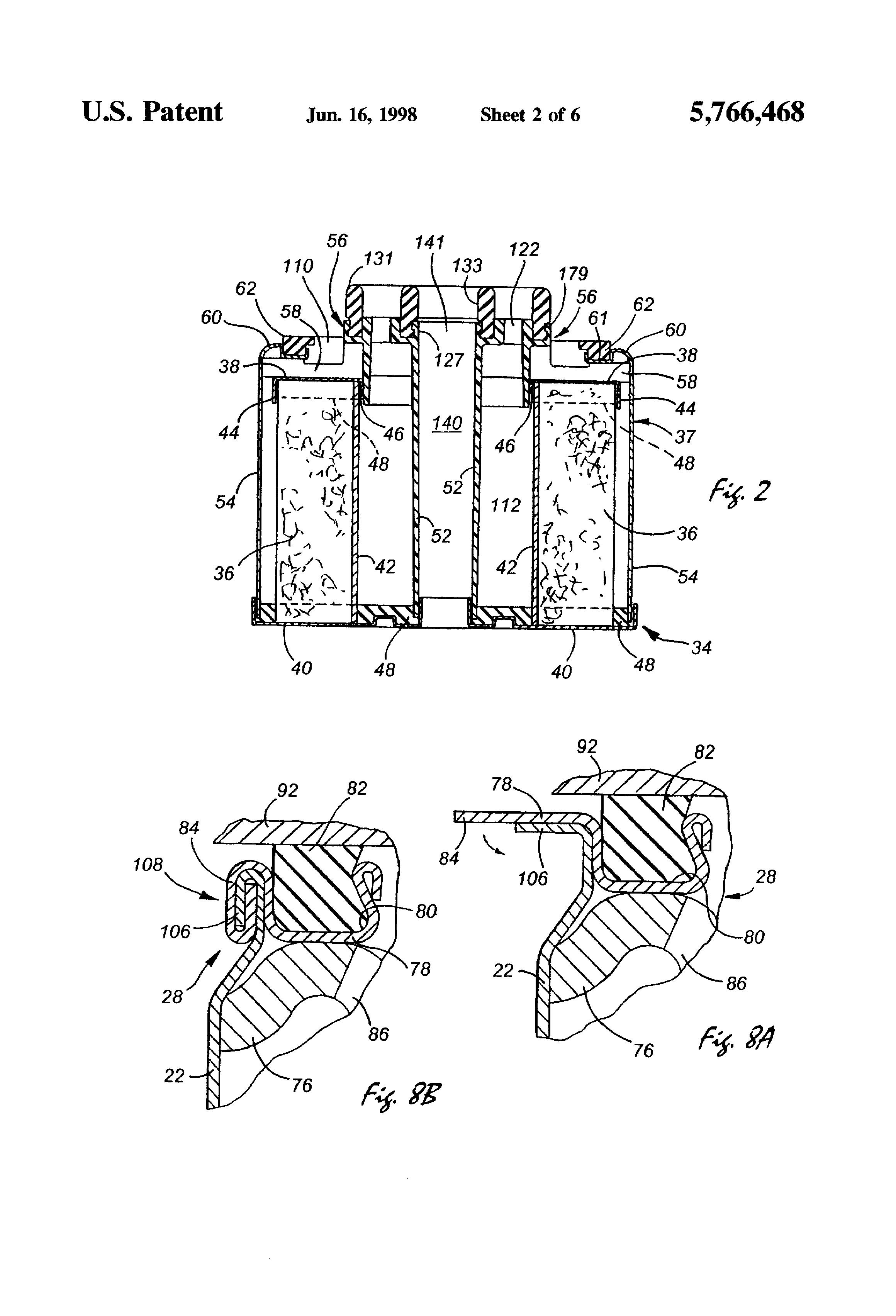 patent us5766468  secondary fuel