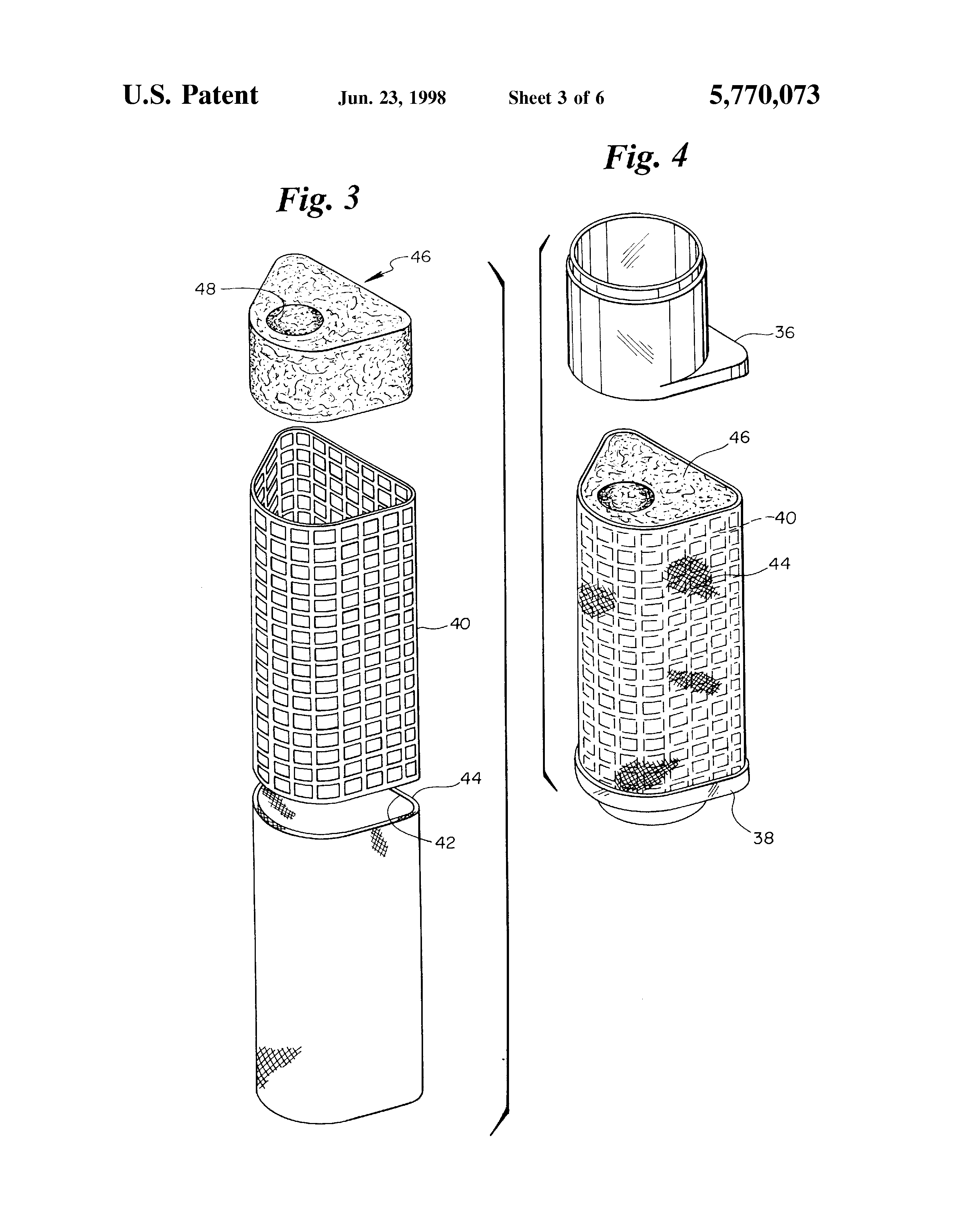 Vintage Patent Drawing