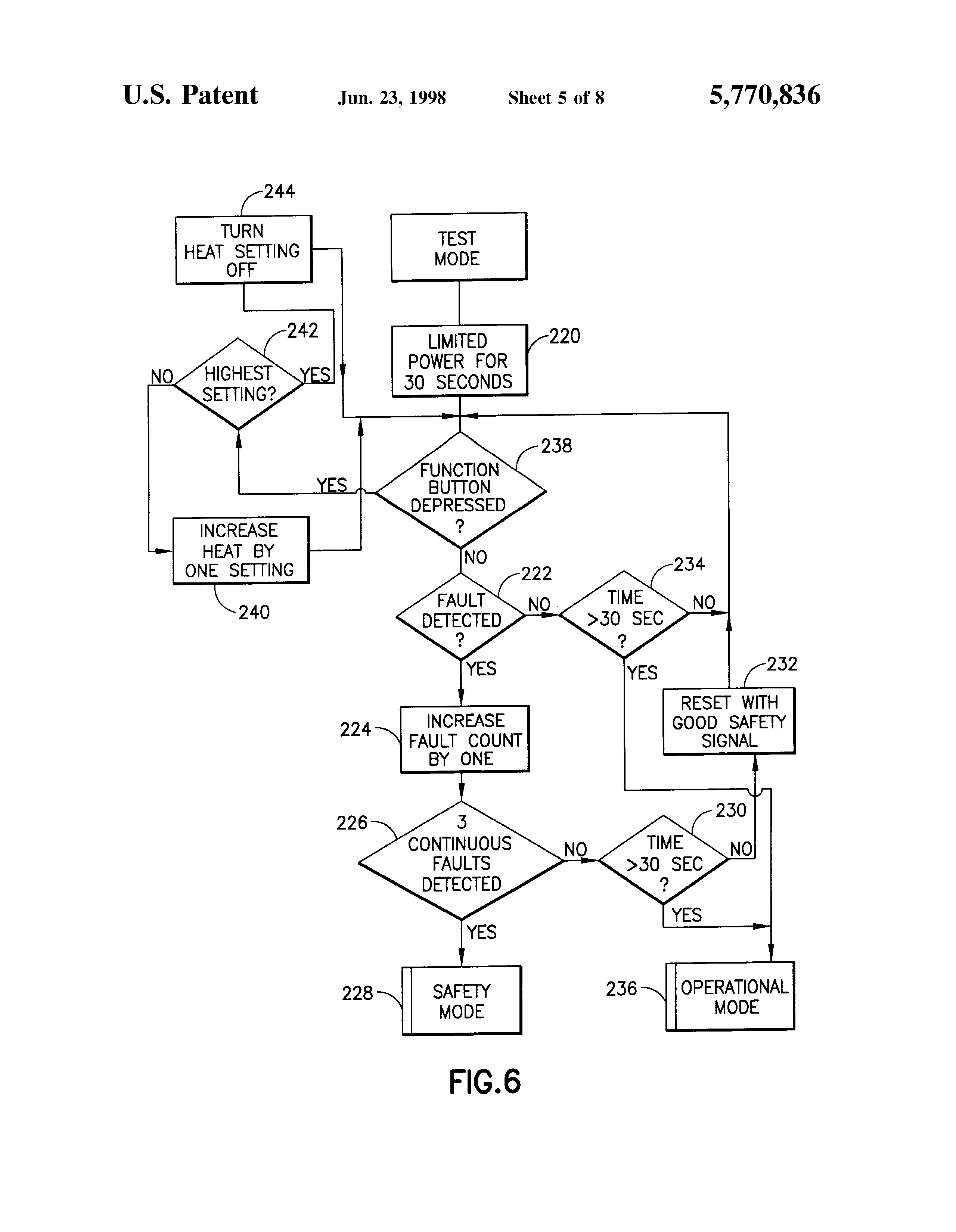 patent us5770836 resettable safety circuit for ptc electric on simple circuit diagram electrical flow