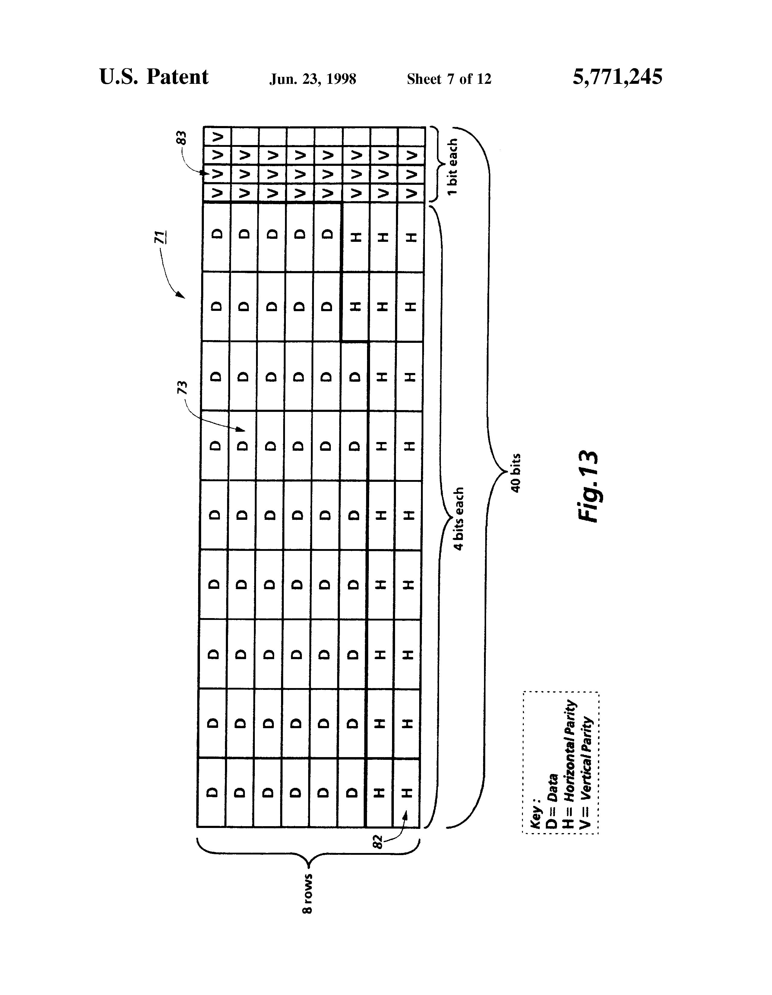 patent us5771245