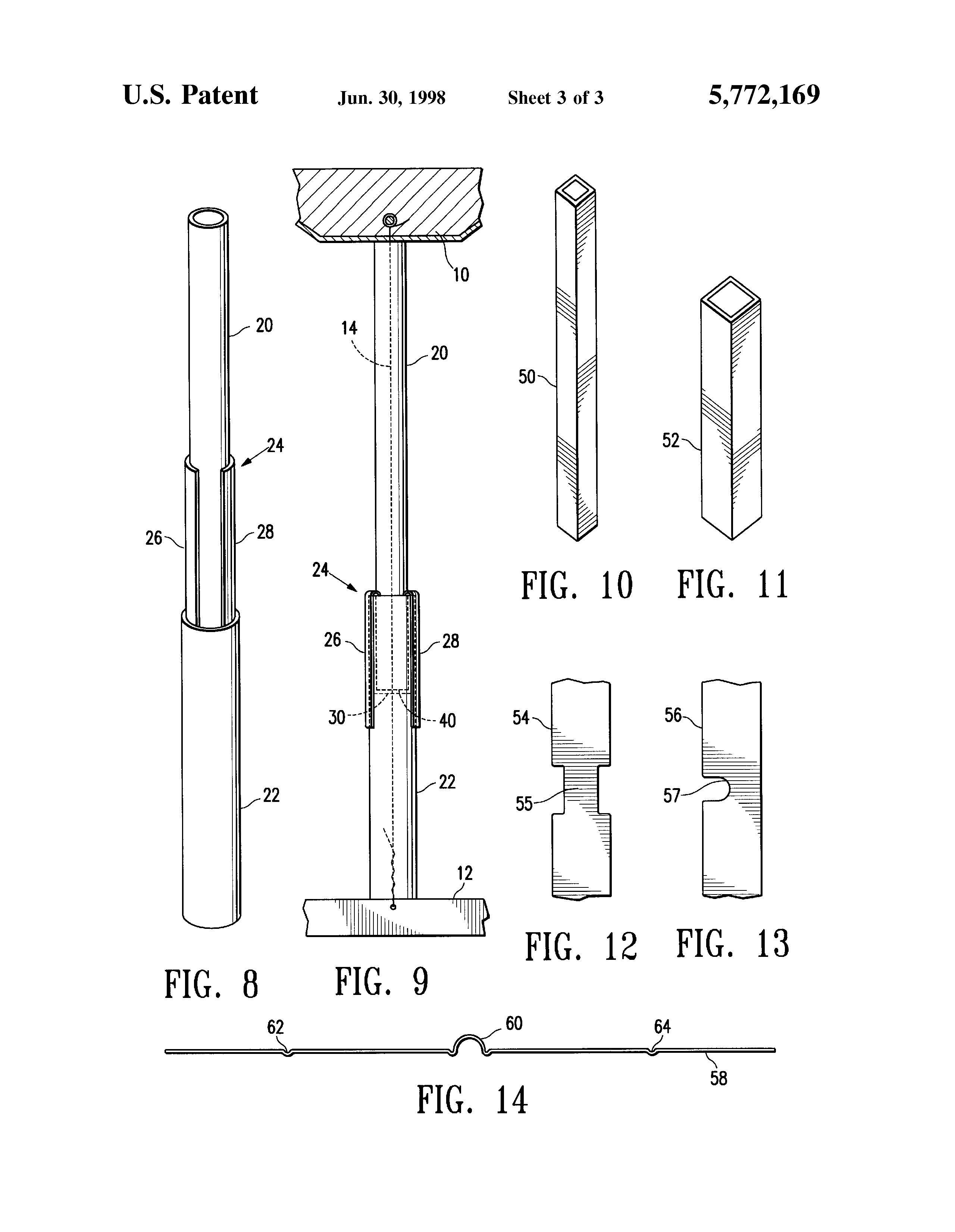 Patent Us5772169 Compression Strut System For Acoustic