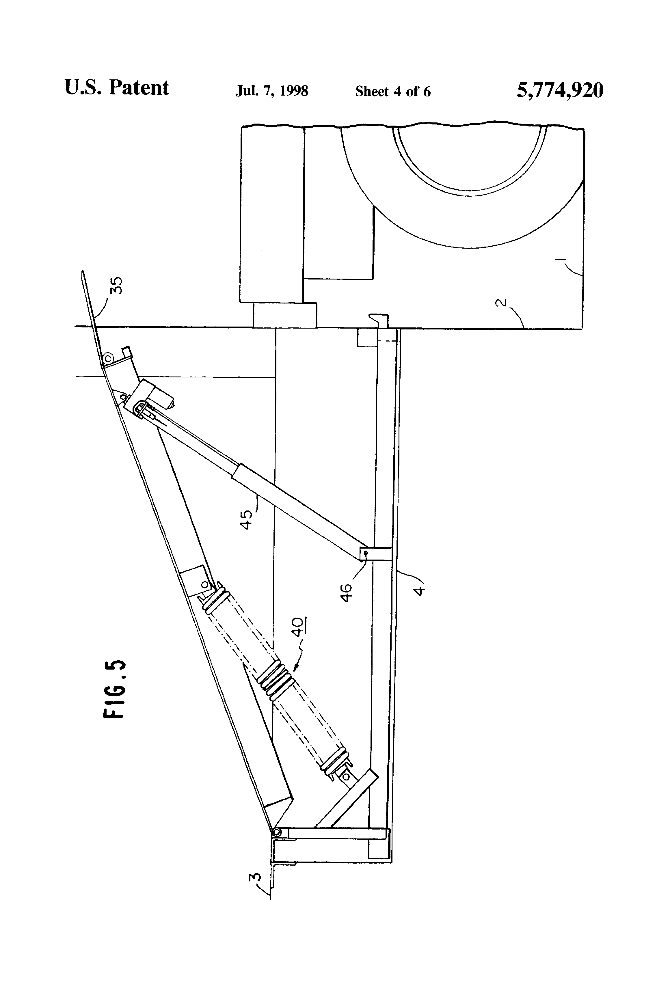 patent us5774920 electrically actuated dock leveler google patents patent drawing