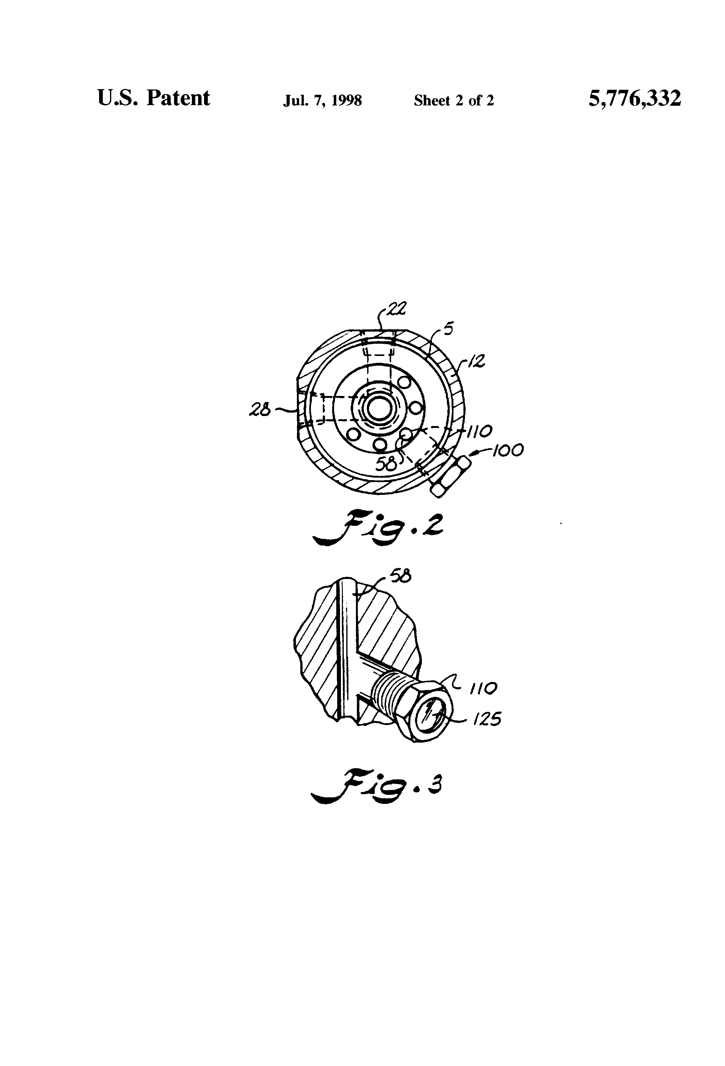 patent us5776332 - fuel system with sight-glass