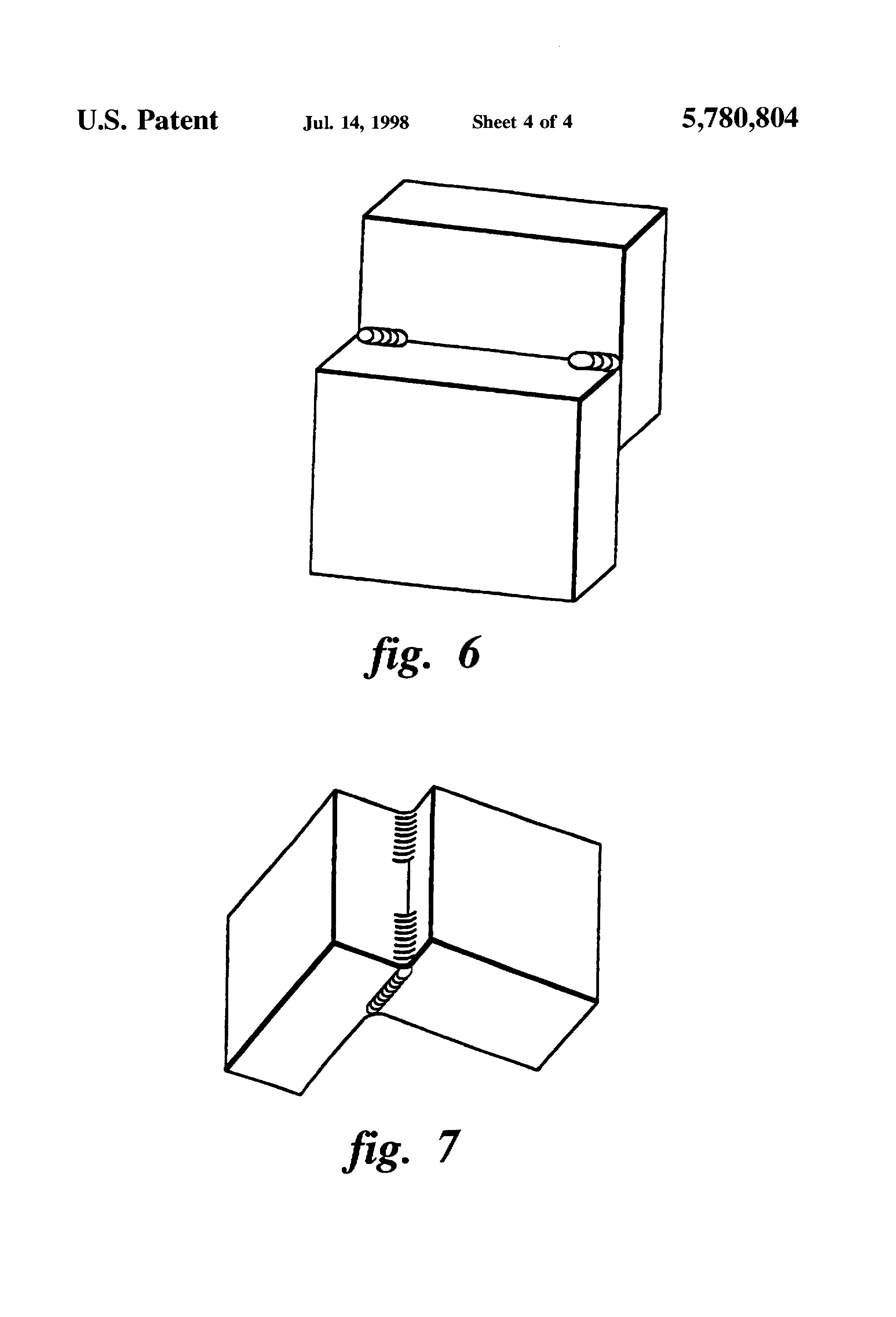 Brevet Us5780804 Apparatus And Method For Making Structural Fillet Hyperbaric Welding Diagram Patent Drawing