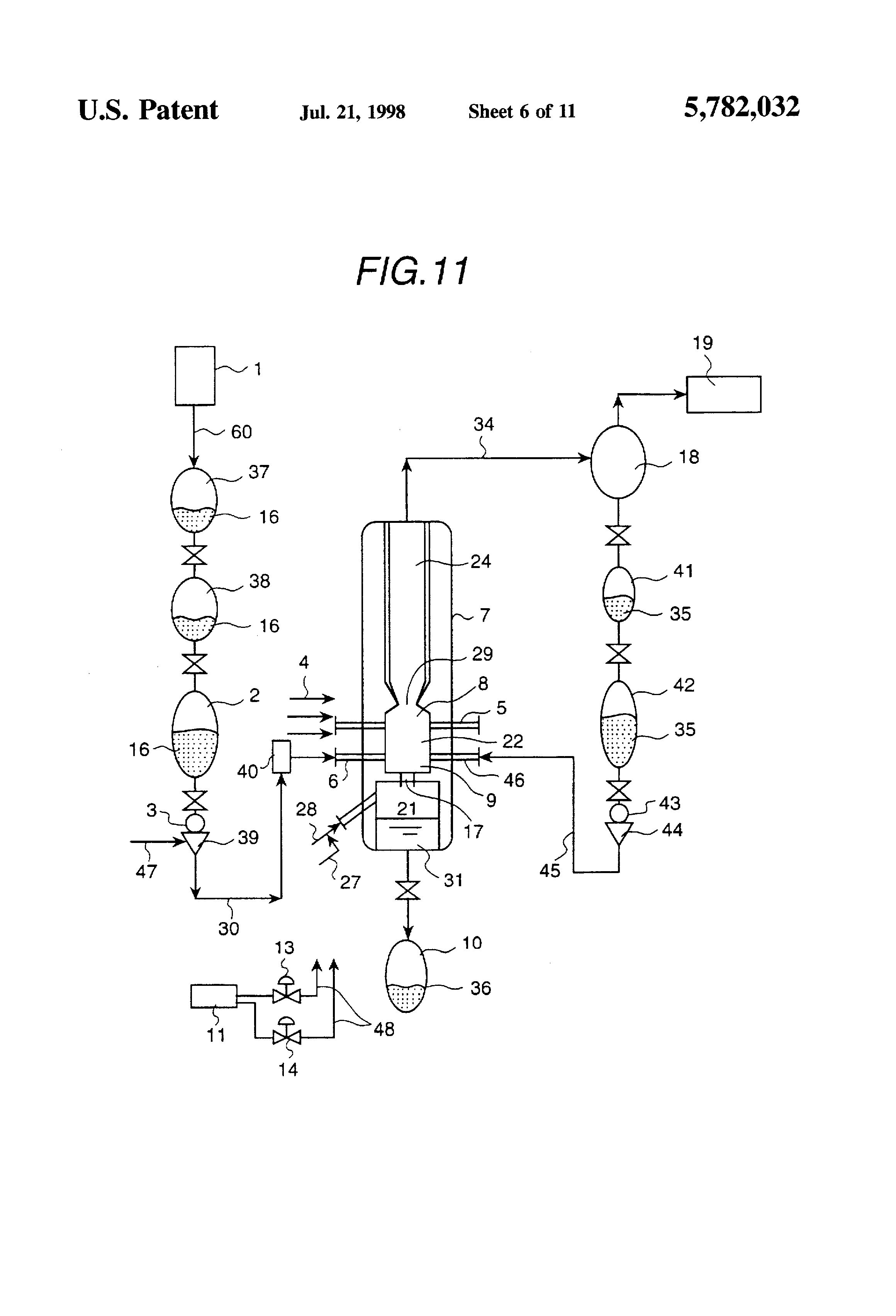 Slag Cross Section : Patent us coal gasification furnace with a slag