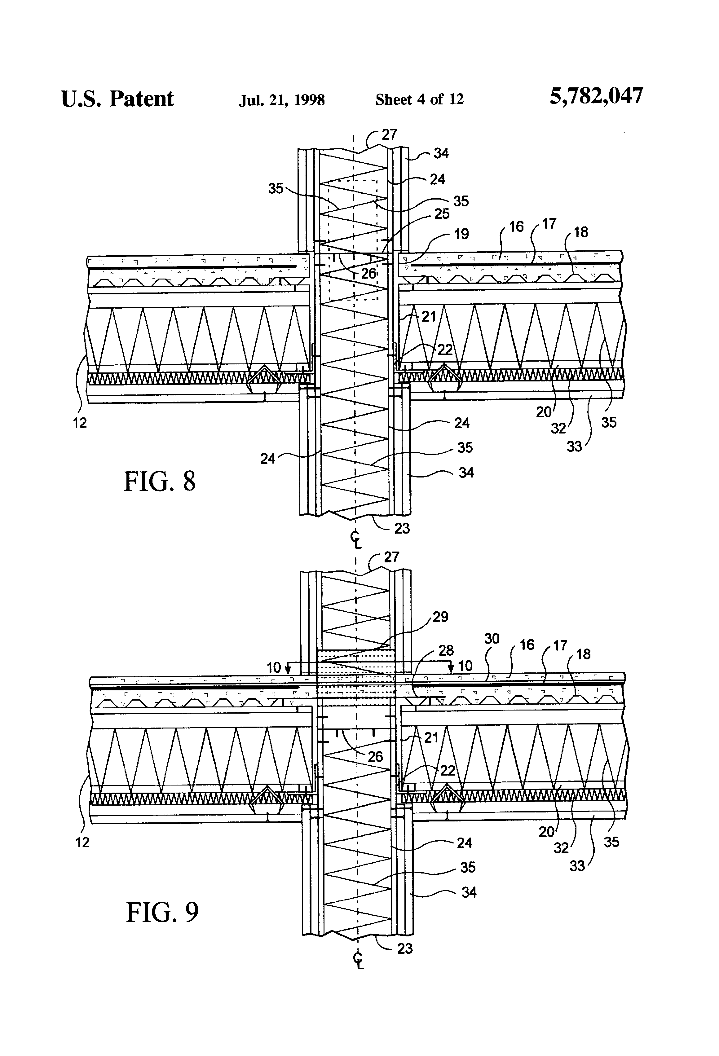 Patent Us5782047 High Rise Building System Using Light