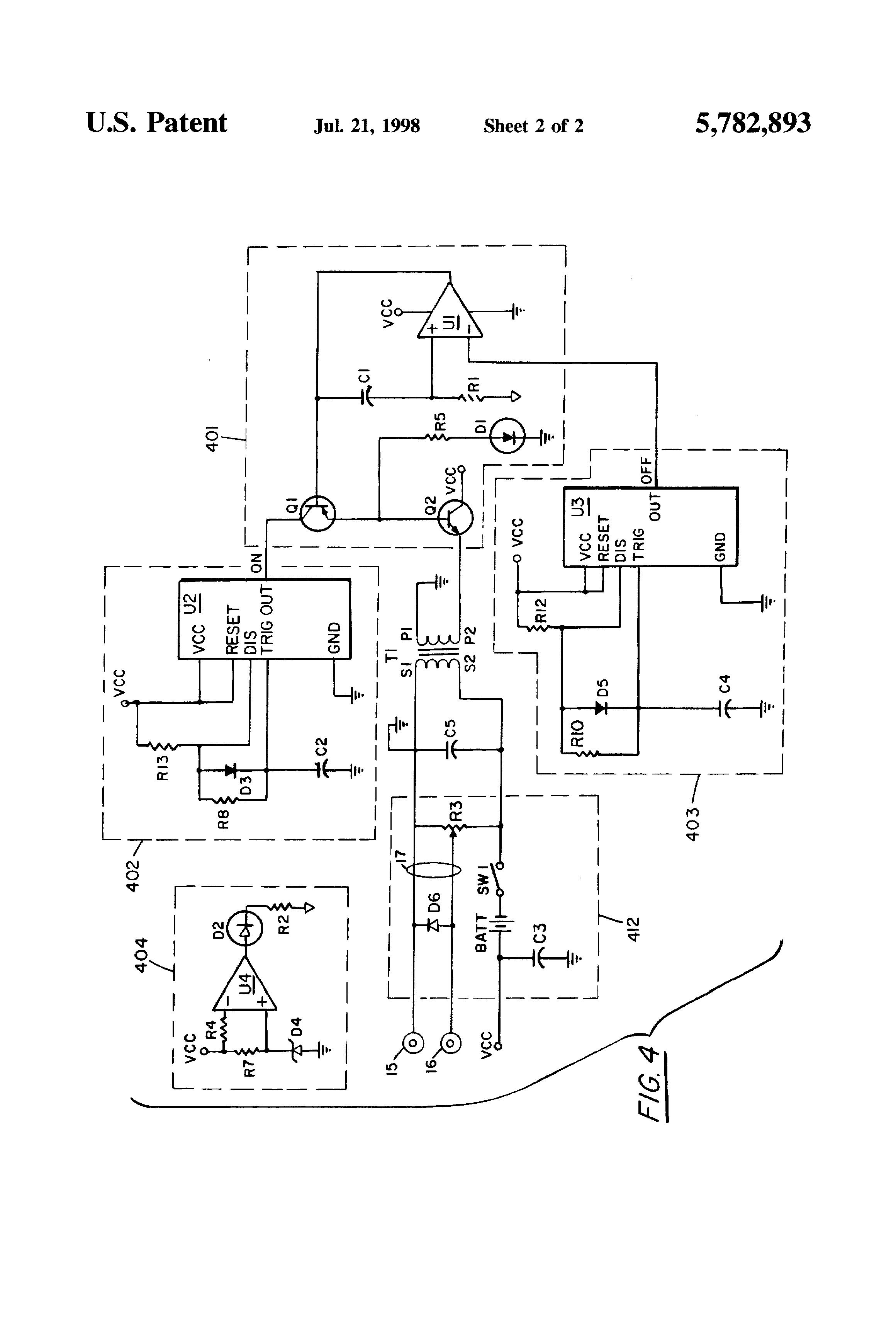 patent us5782893