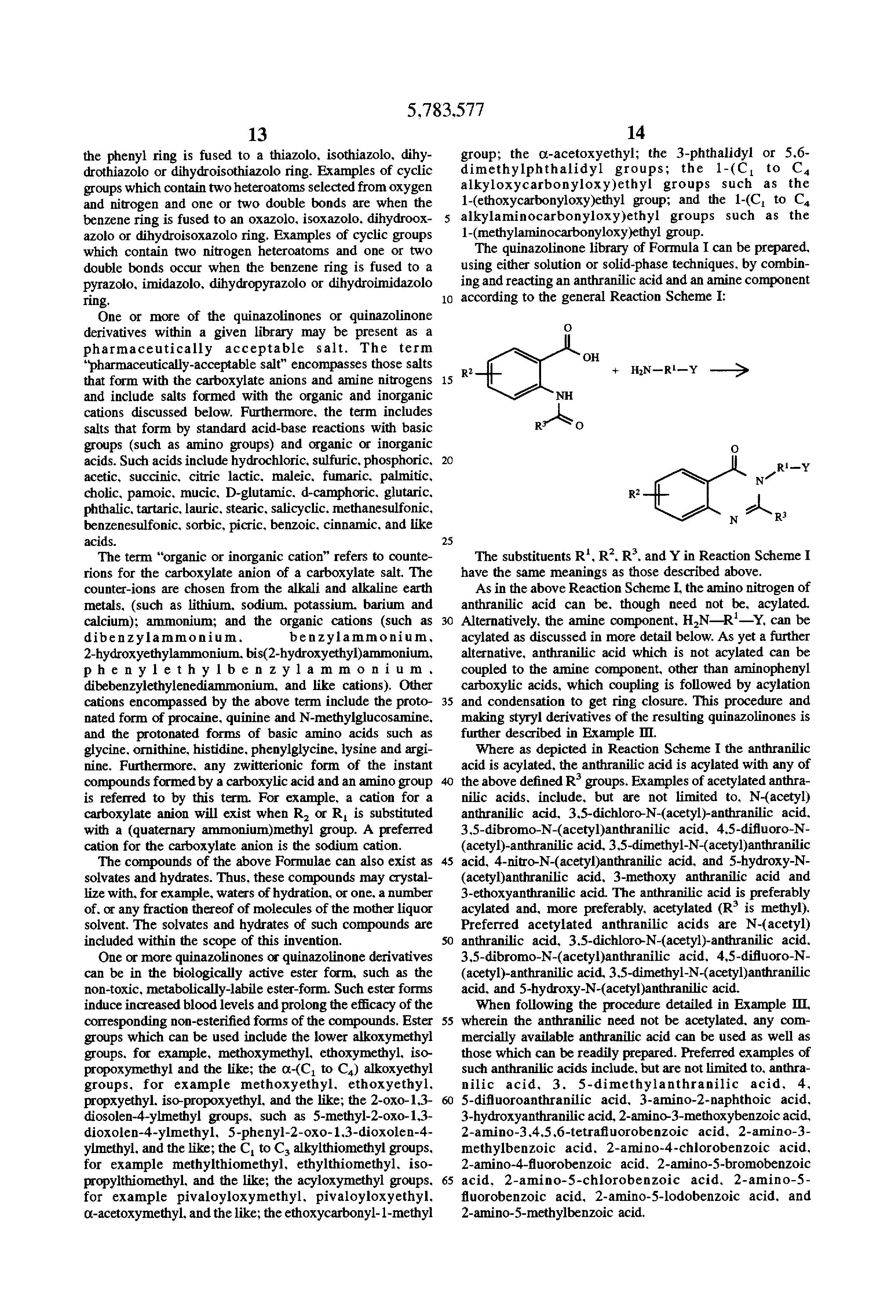 synthesis of substituted quinazolinones A one-pot synthesis of quinazolinone derivatives from the reaction of anthranilic  acid and  table i — synthesis of 3-substituted quinazolinones quinazolinone.