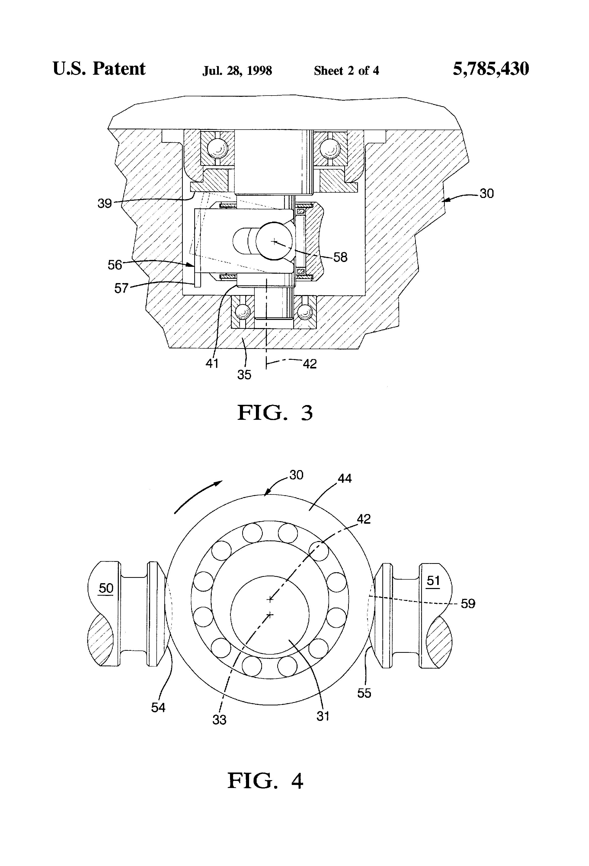 Patent Us5785430 Eccentric Bearing Assembly Google Patents Honda 300ex Wiring Diagram Drawing