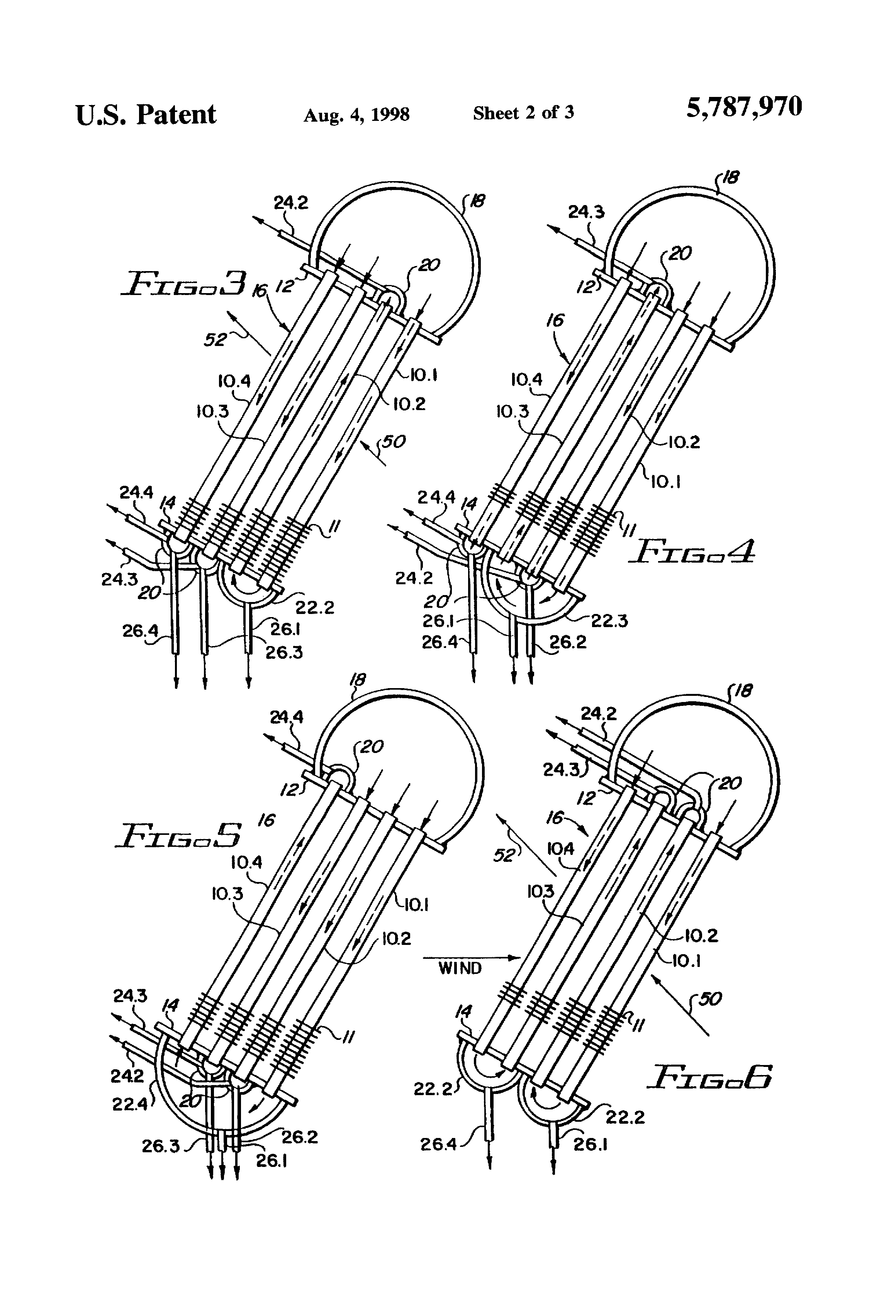 Patent US Air cooled vacuum steam condenser with mixed