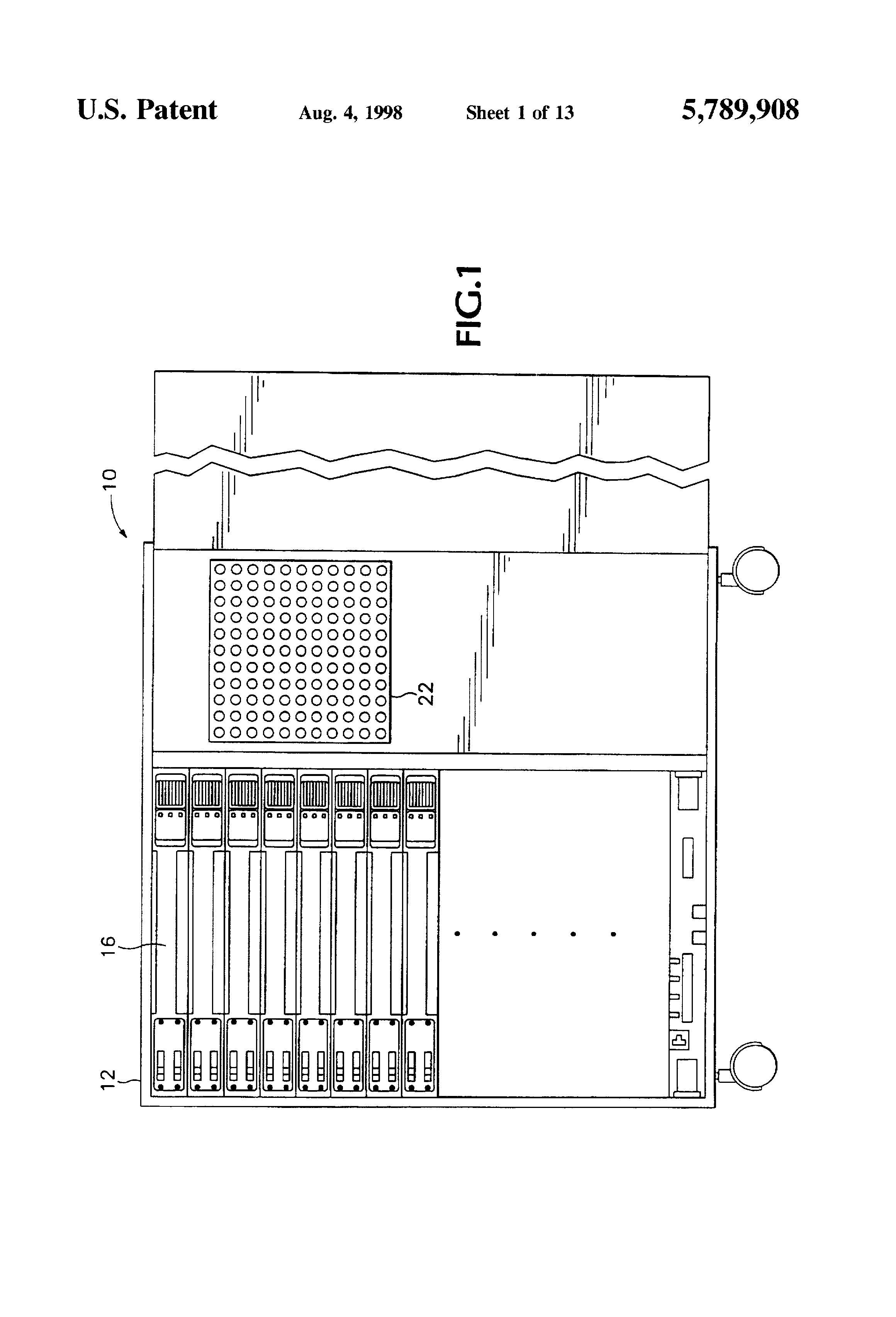 US5789908 1 patent us5789908 lighting dimmer rack with removable connector socapex wiring diagram at crackthecode.co