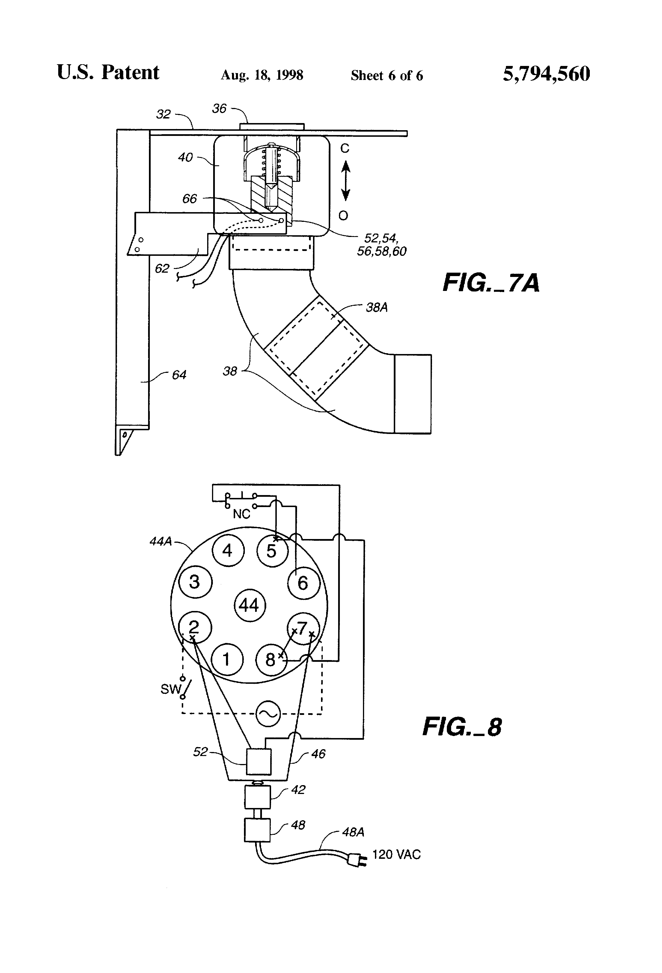 US5794560 6 patent us5794560 automatic dog and cat feeder google patents Metal Automatic Dog Feeder at gsmportal.co