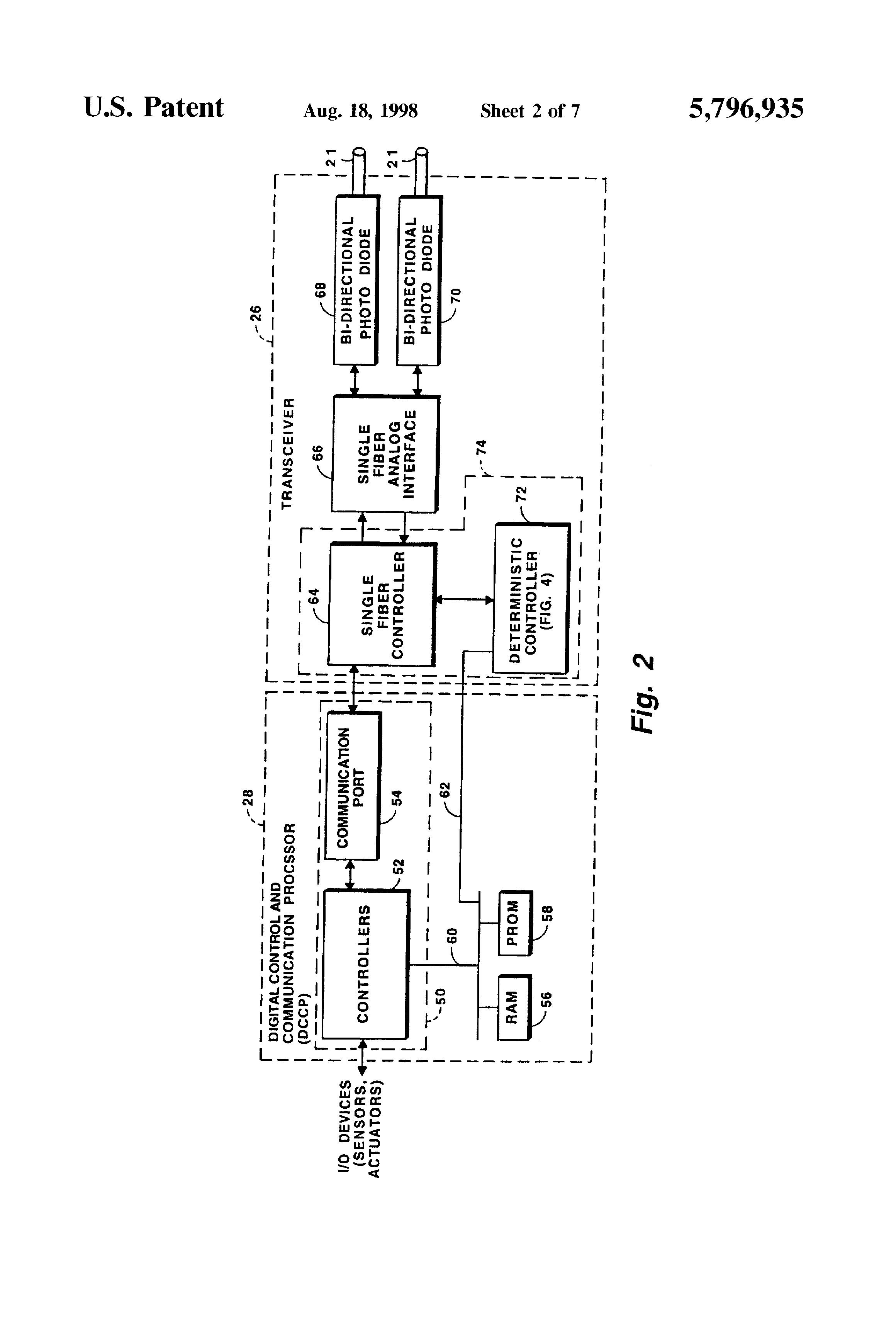 brevetto us5796935