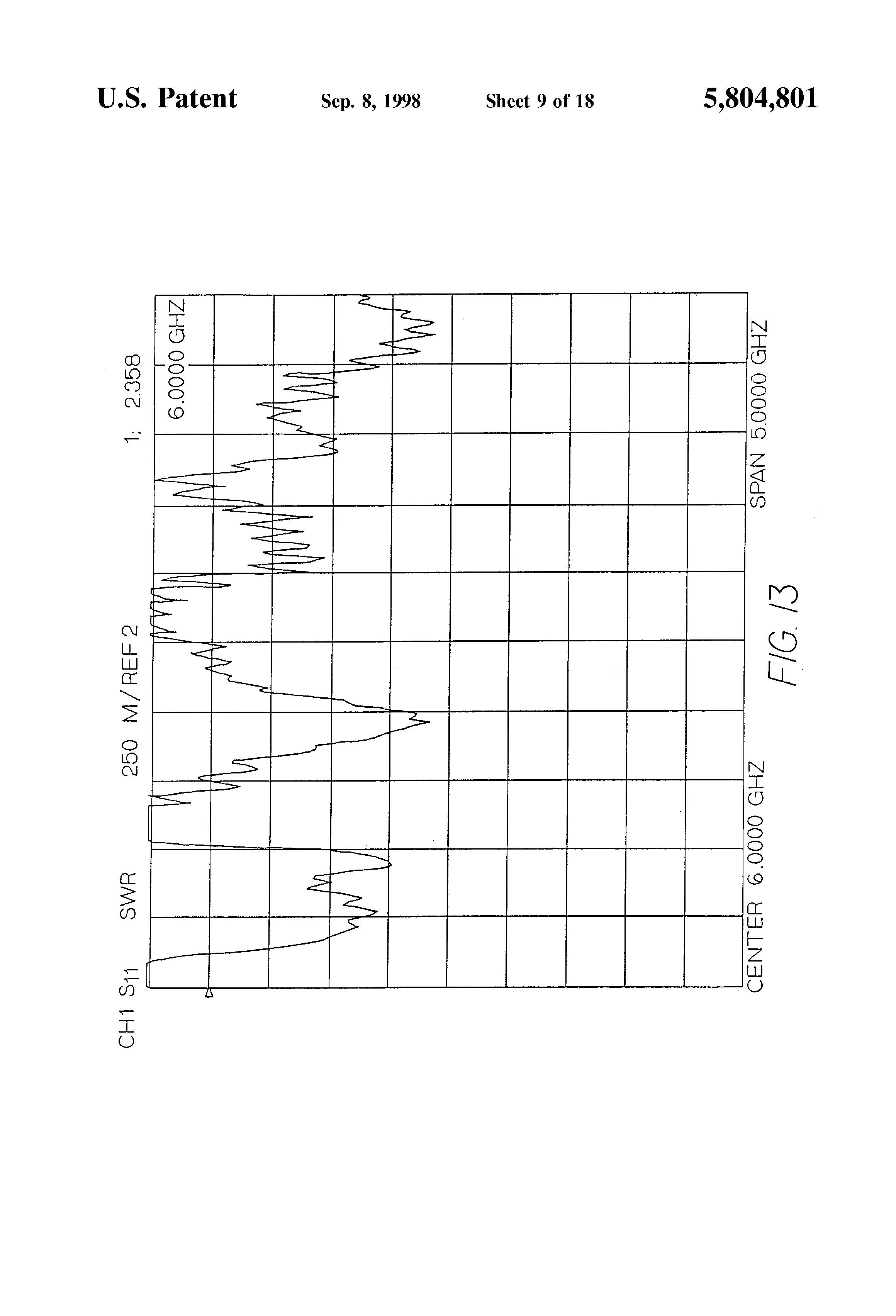 patent us5804801