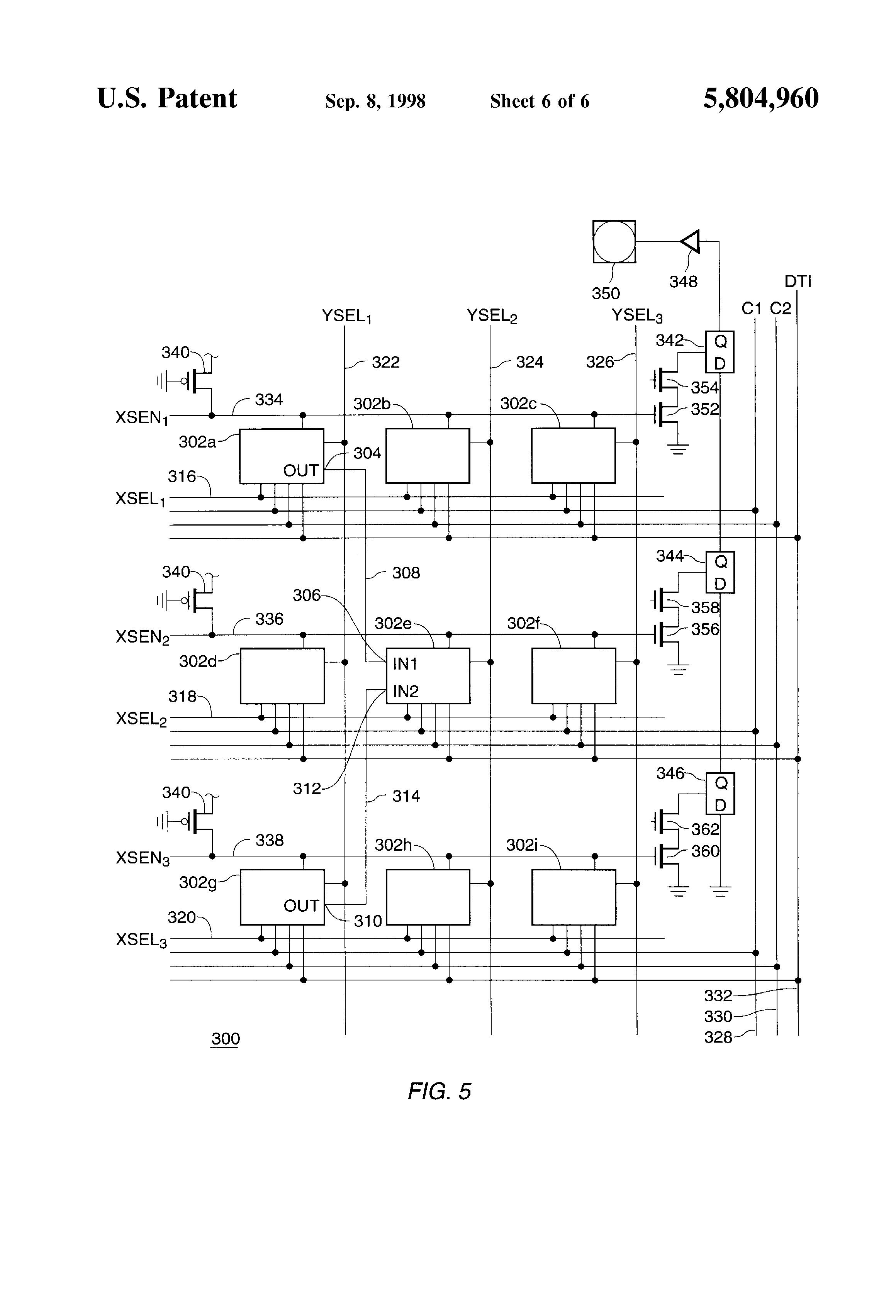 patent us5804960