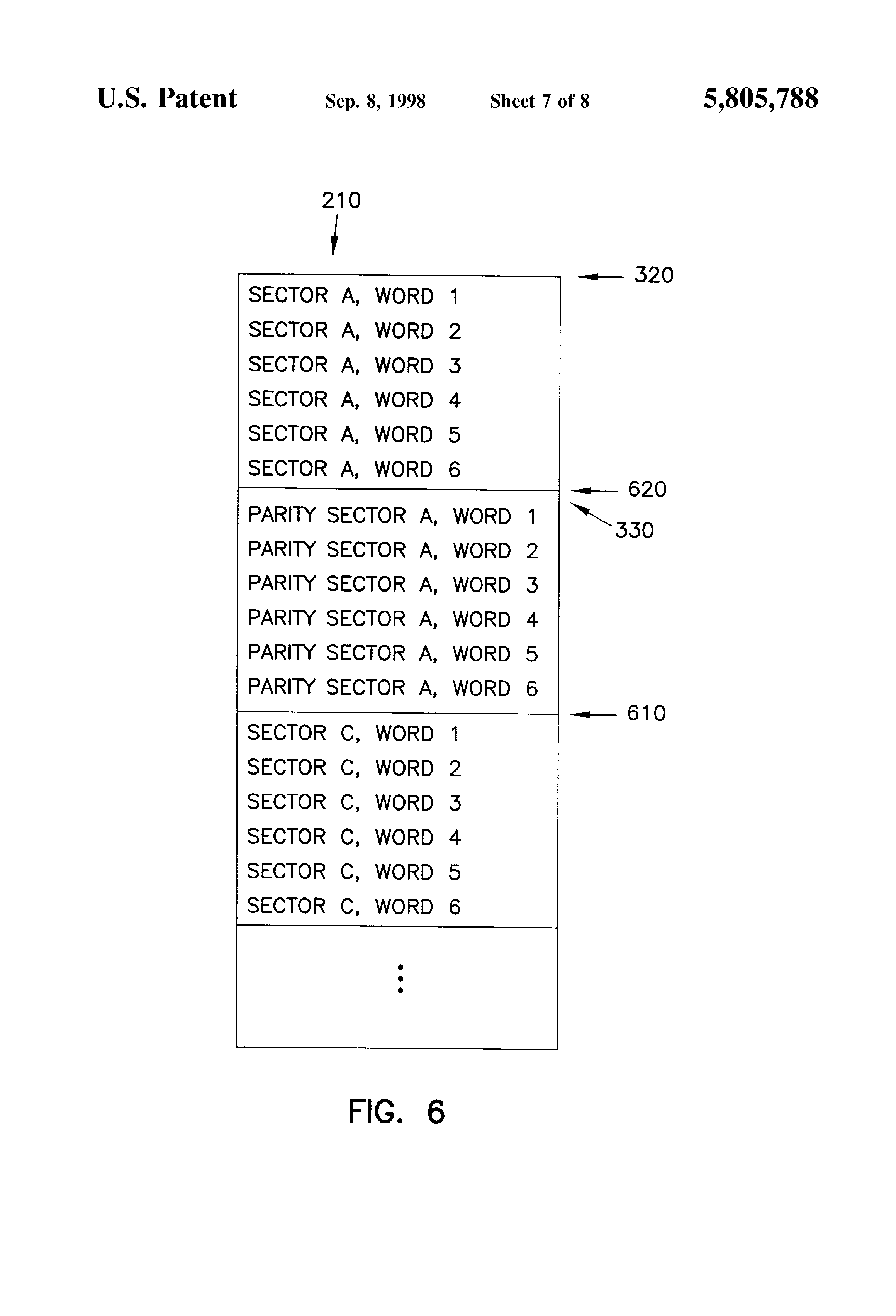 Patent Us5805788 Raid 5 Parity Generation And Data