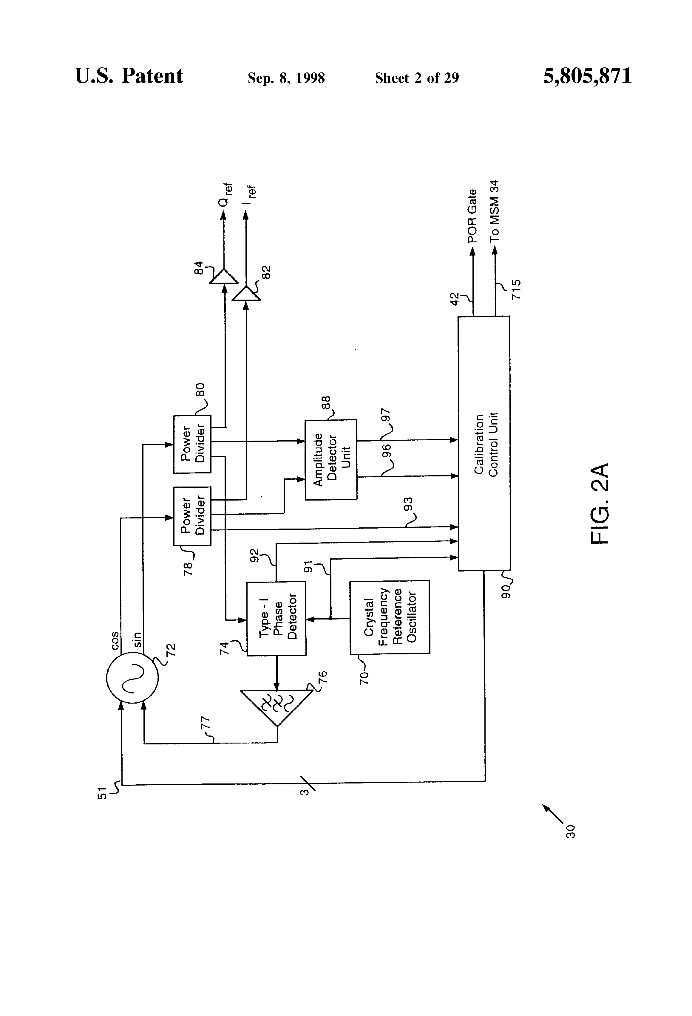 Patent Us5805871 System And Method For Phase Synchronous Flexible Figure 2 10d Basic Armstrong Oscillator Circuit Drawing
