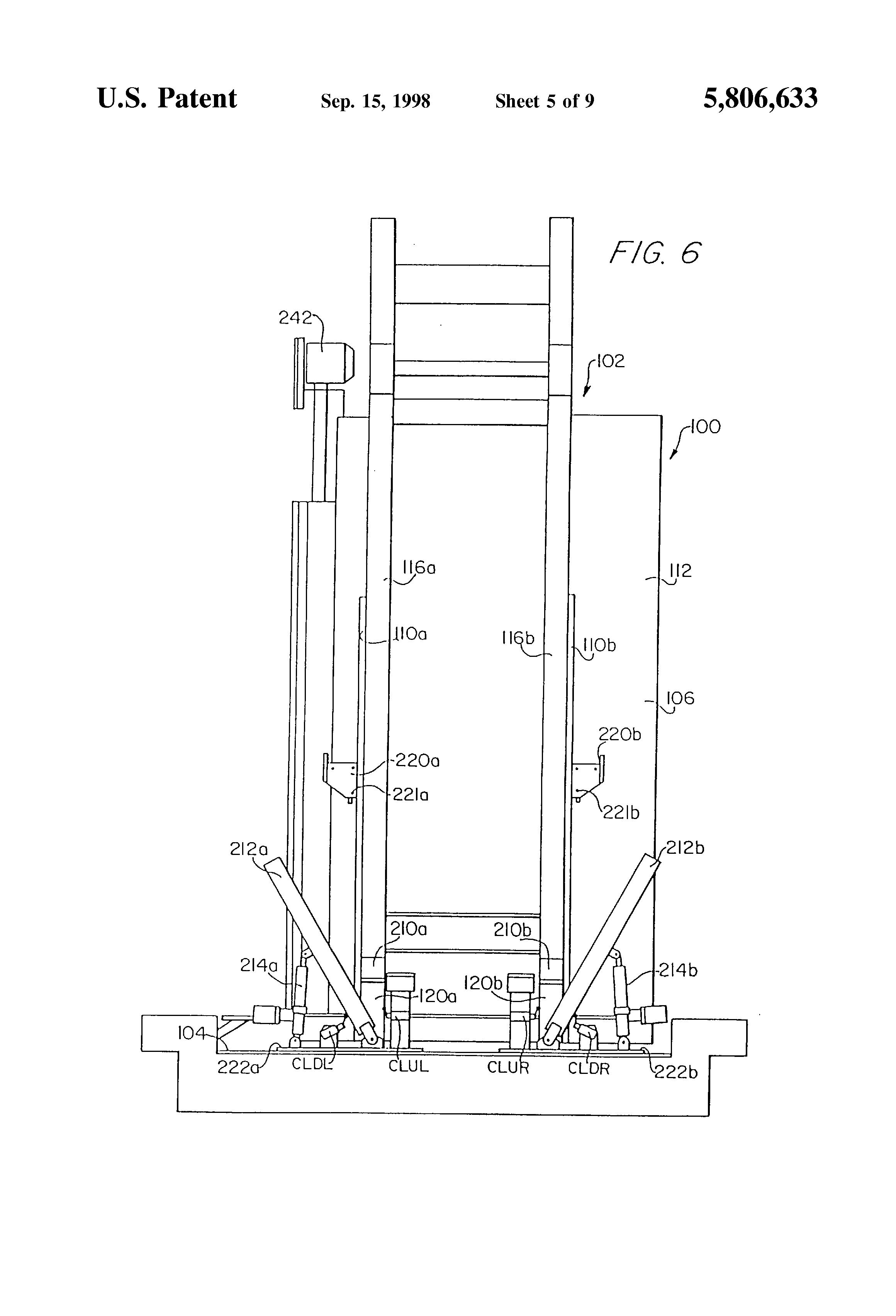 patent us5806633 - elevator safety system incorporating false pit