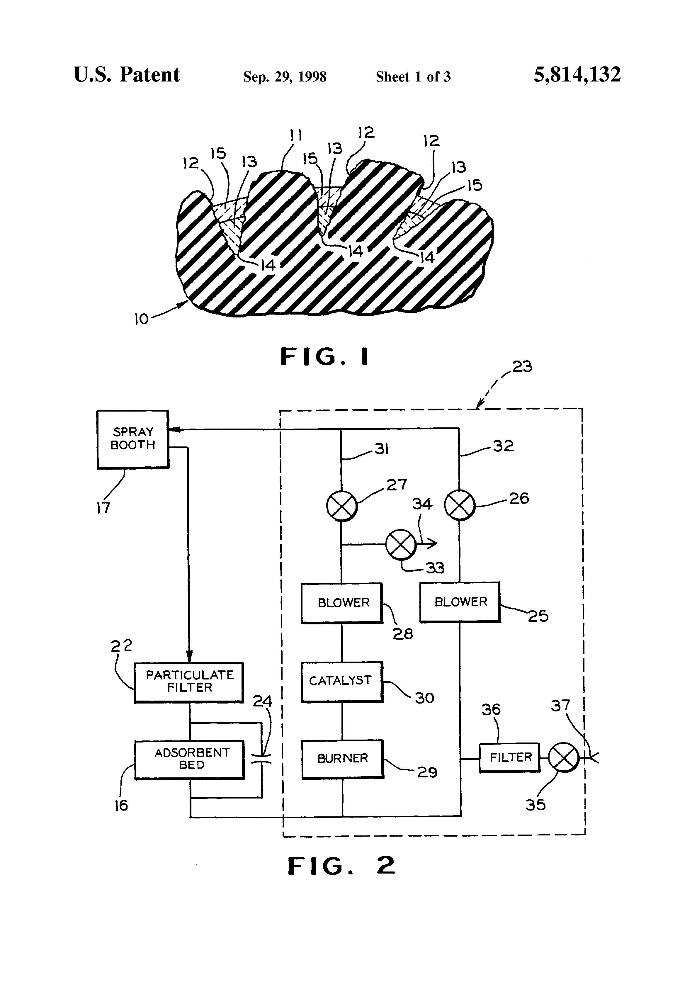 patent us5814132