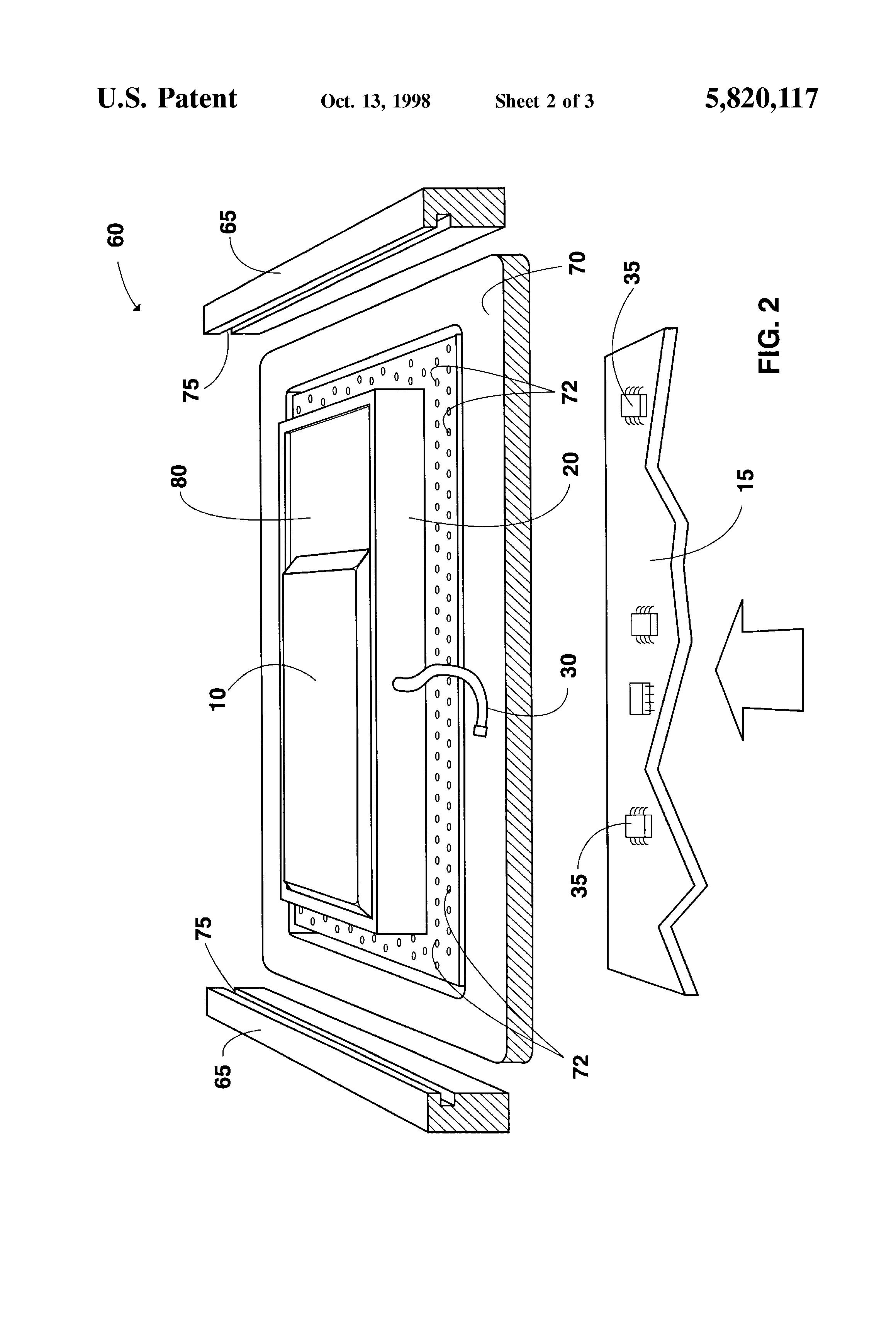 patent us5820117