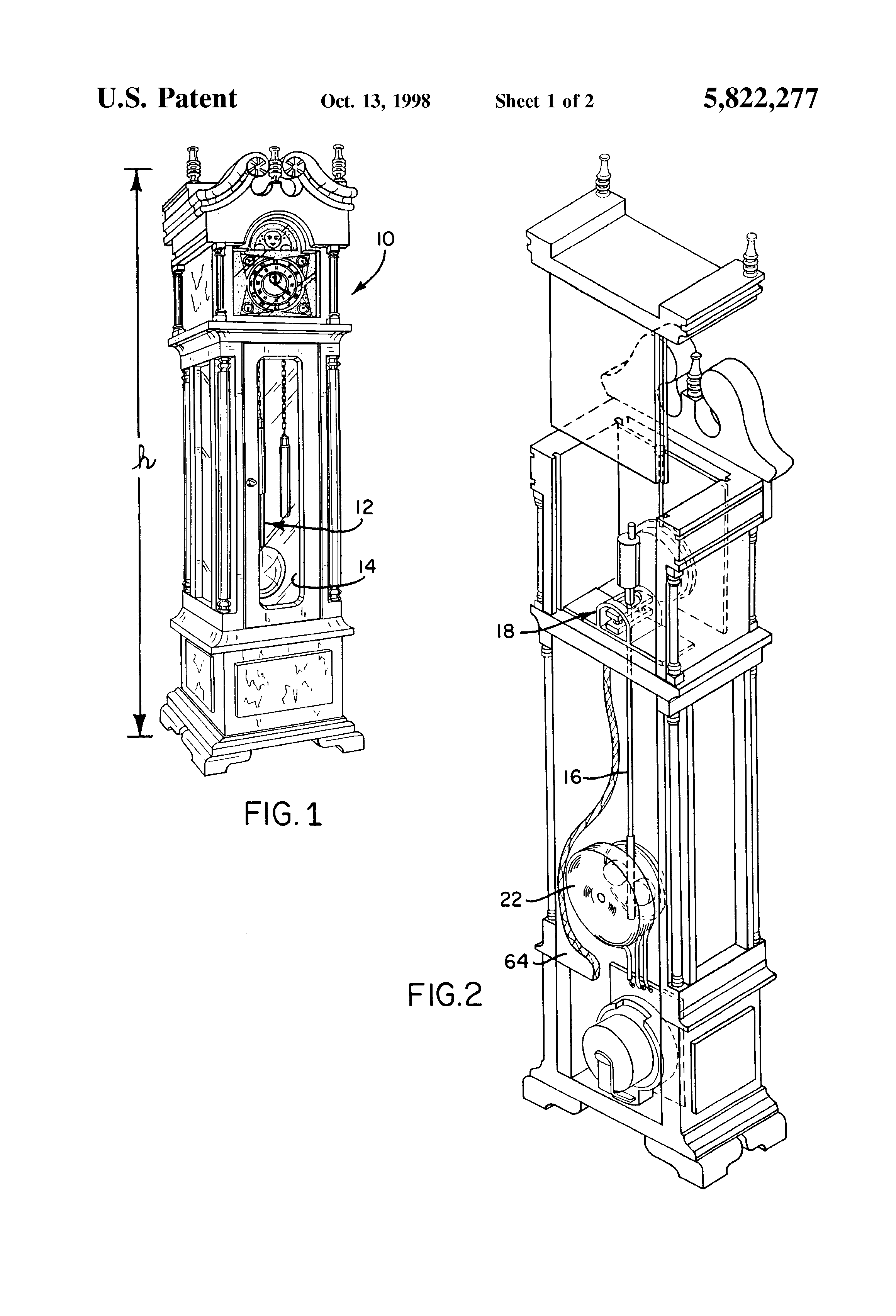 patent us5822277 - long period pendulum apparatus