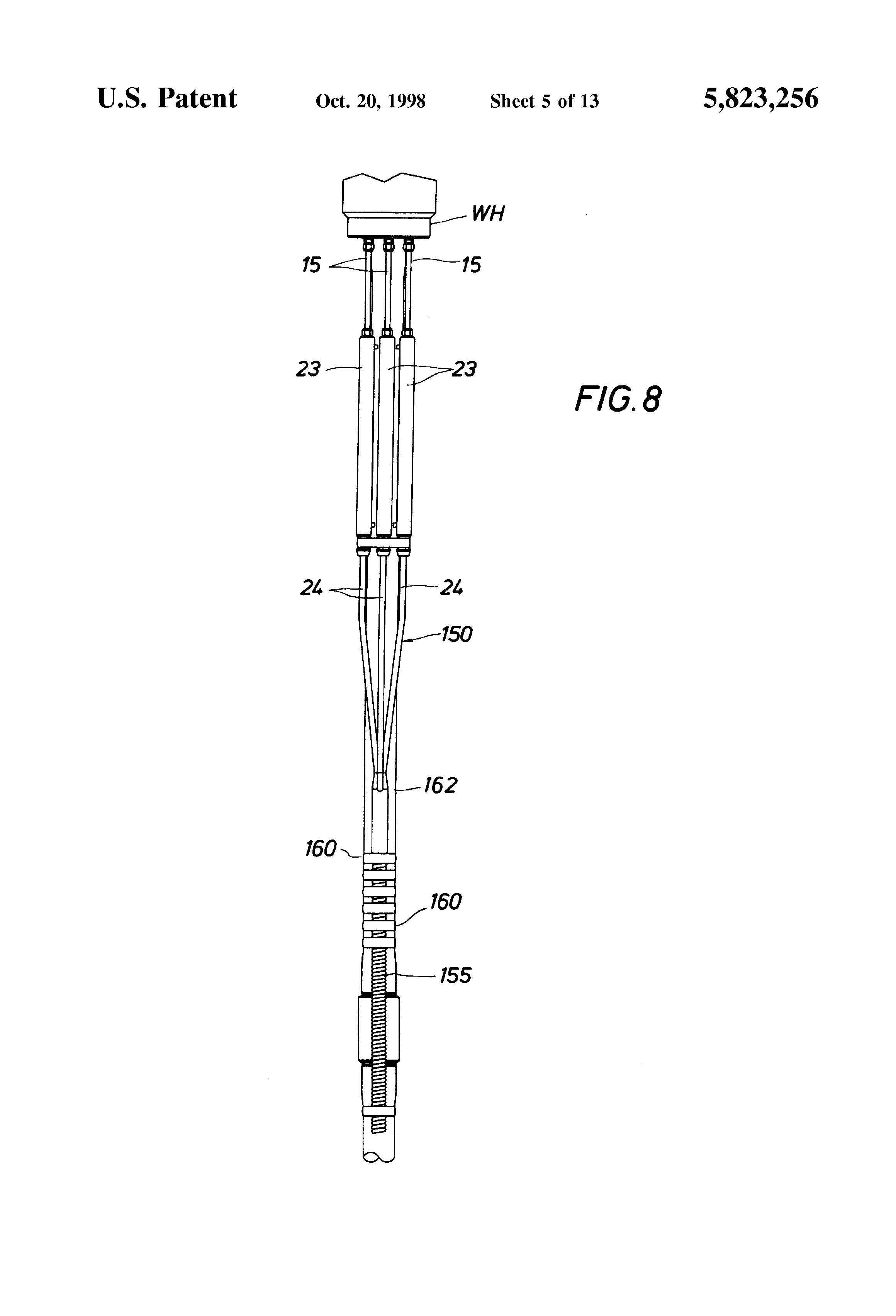 Patent us ferrule type fitting for sealing an