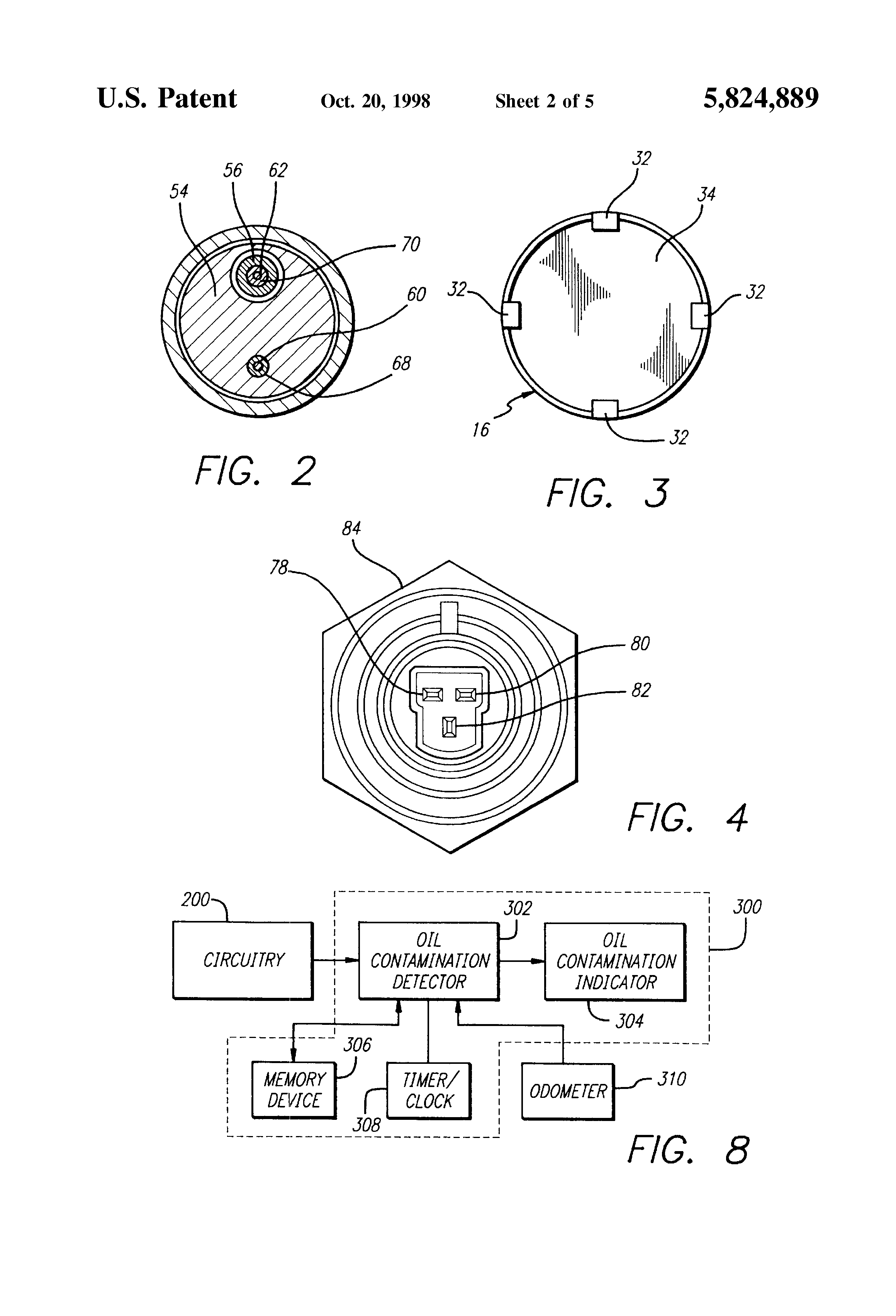 patent us5824889