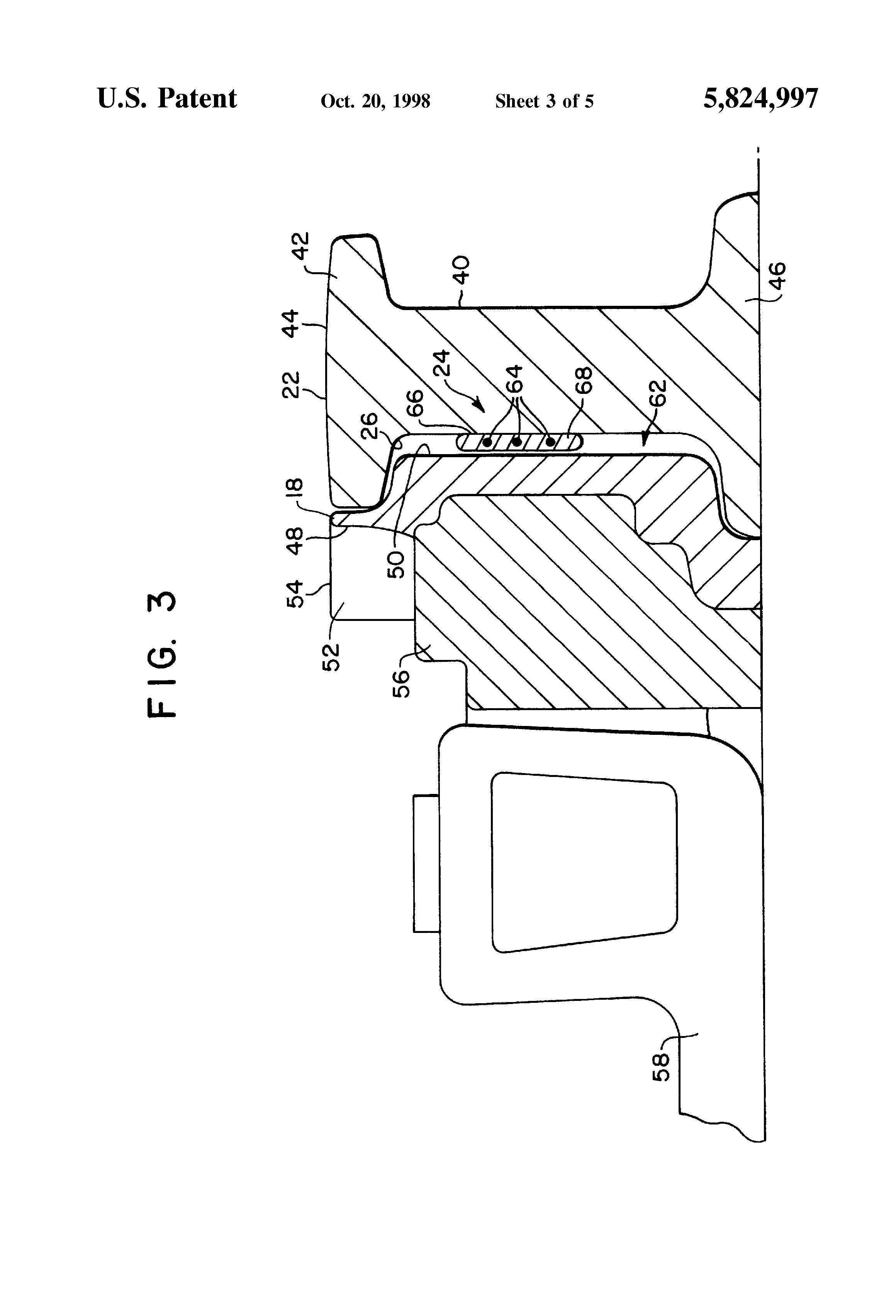 patent us5824997 - railroad track switch heater