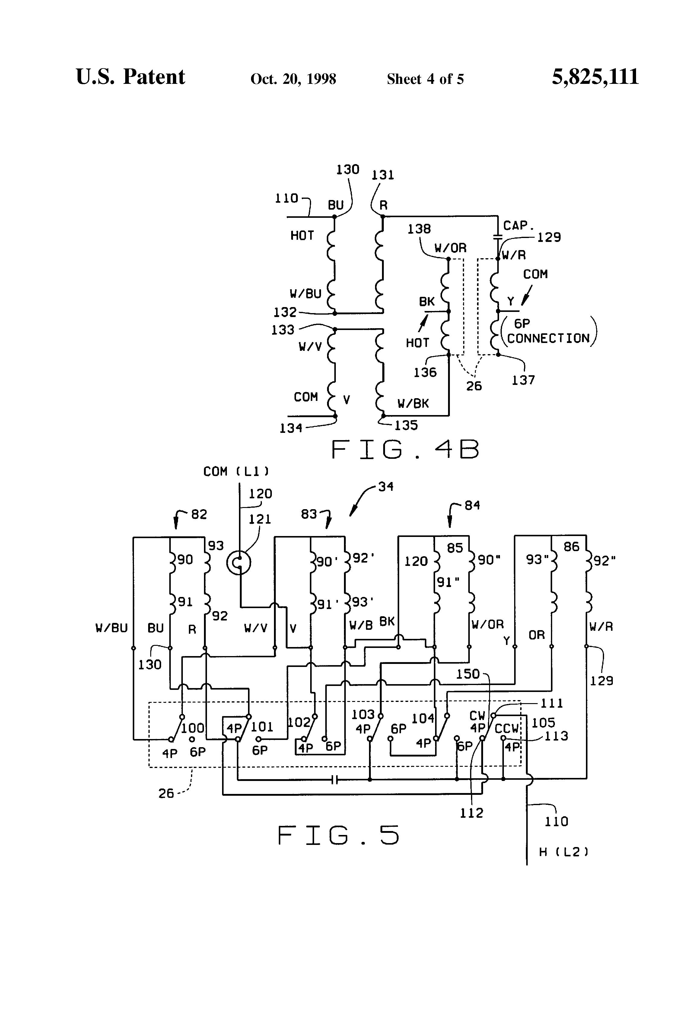 patent us5825111  6 pole