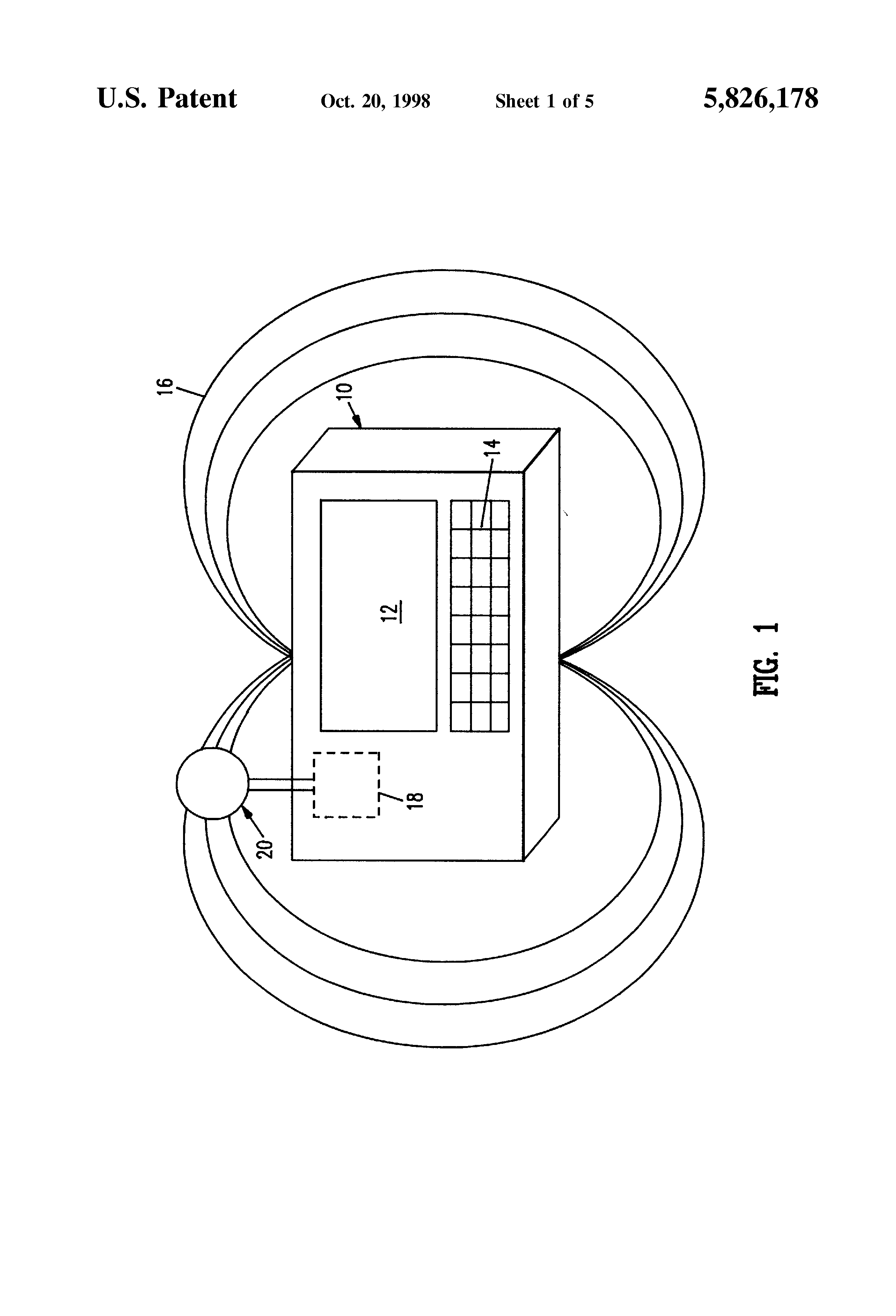 patent us5826178