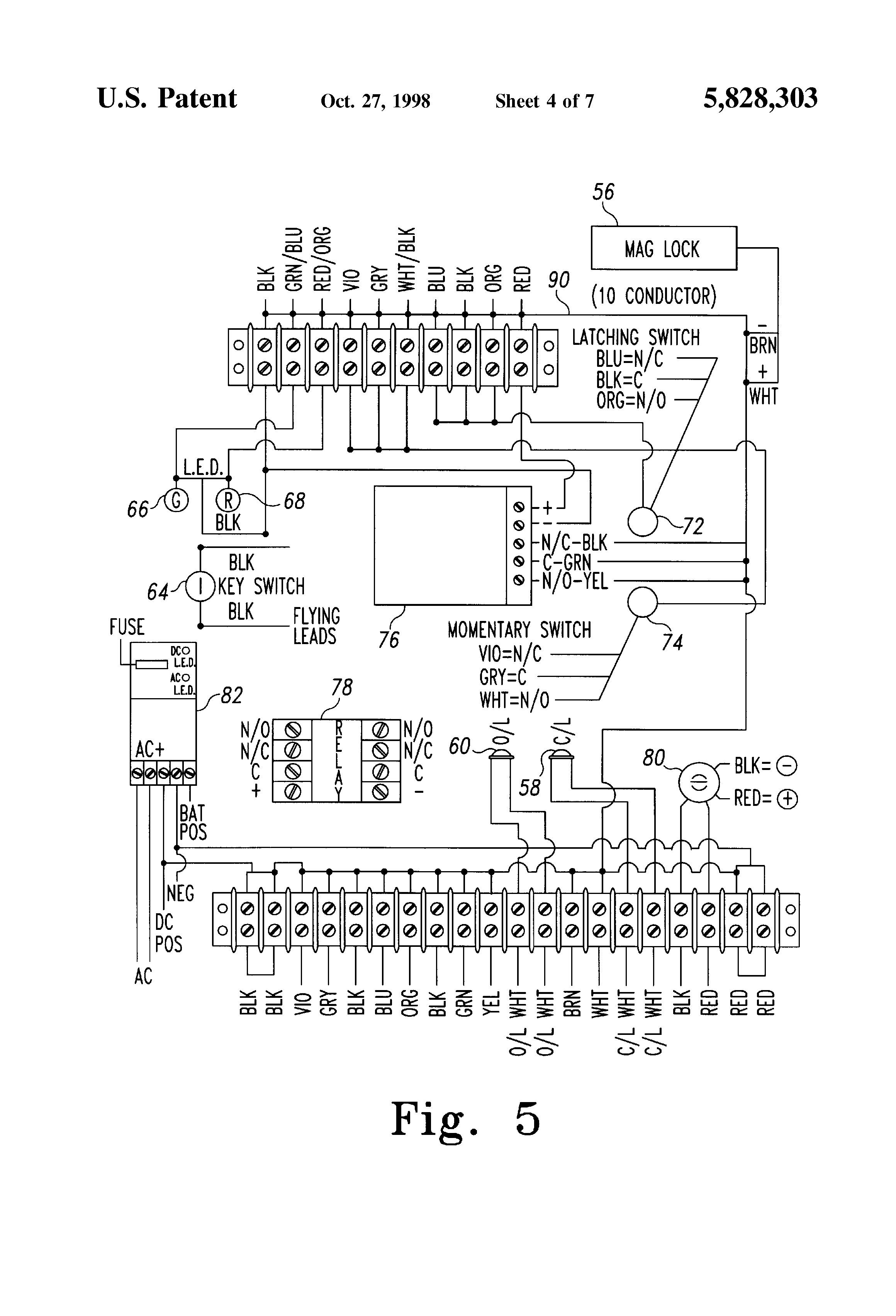 altronix rb5 relay module wiring diagrams