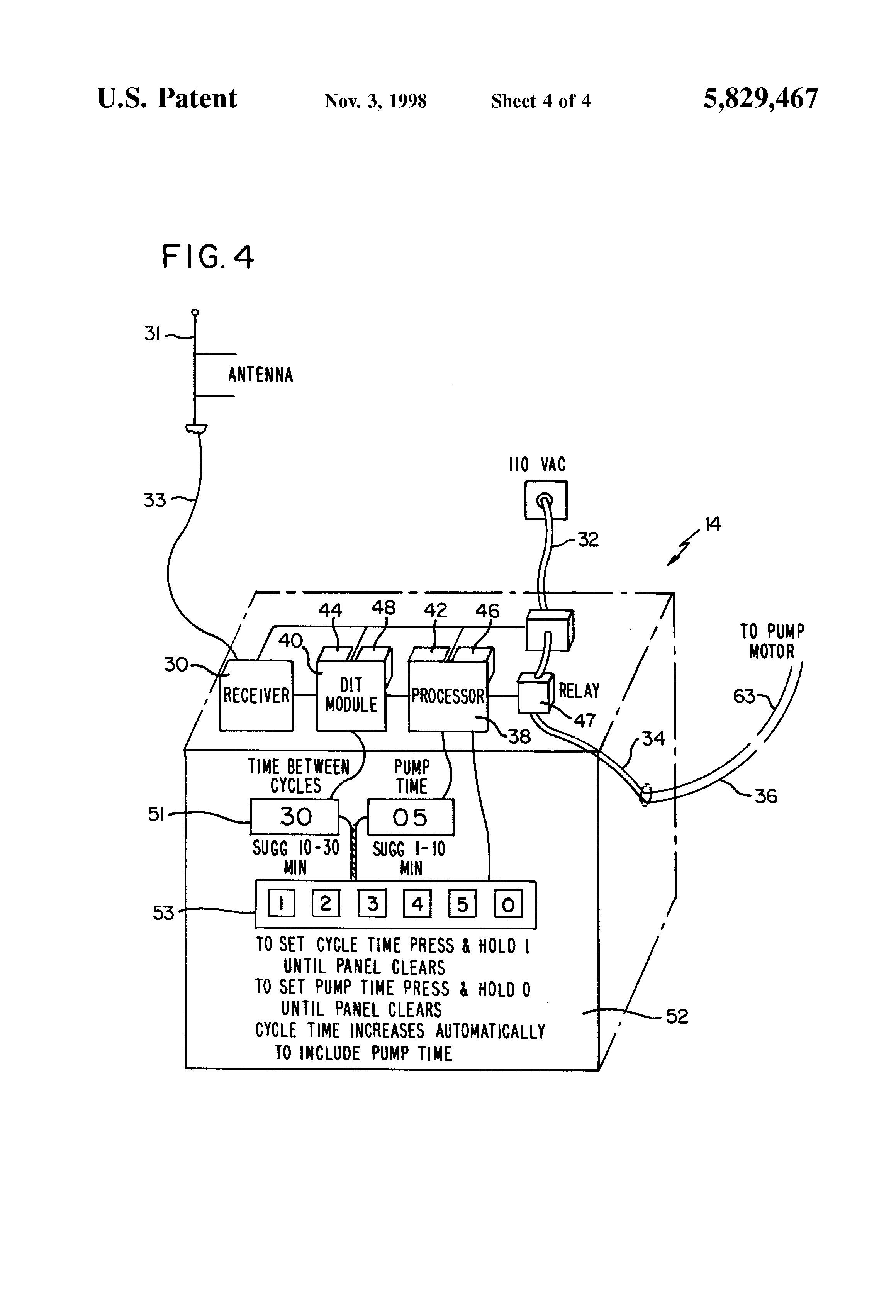 Snap Nex 8100 Wiring Harness Pioneer Avic 5000nex Mvh P8200bt Diagram Patent Us5829467 Residential Hot Water Circulation System And Associated Method Google Patents