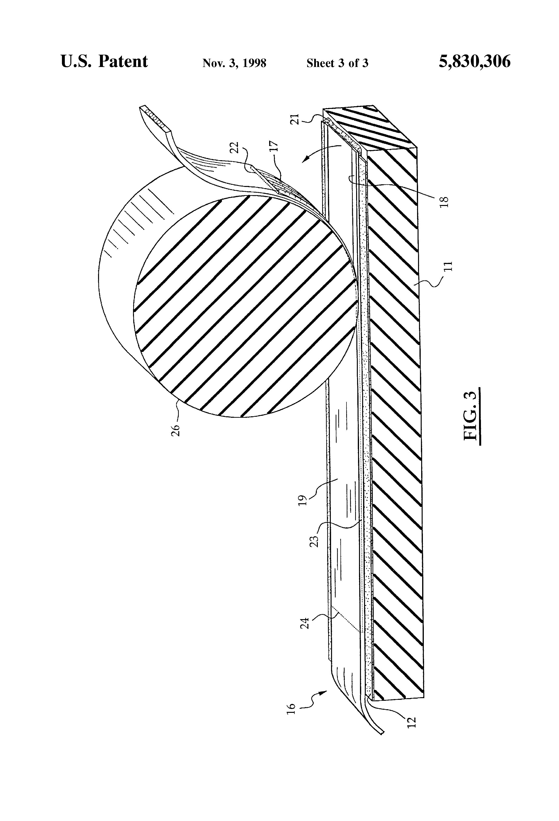 patent us5830306