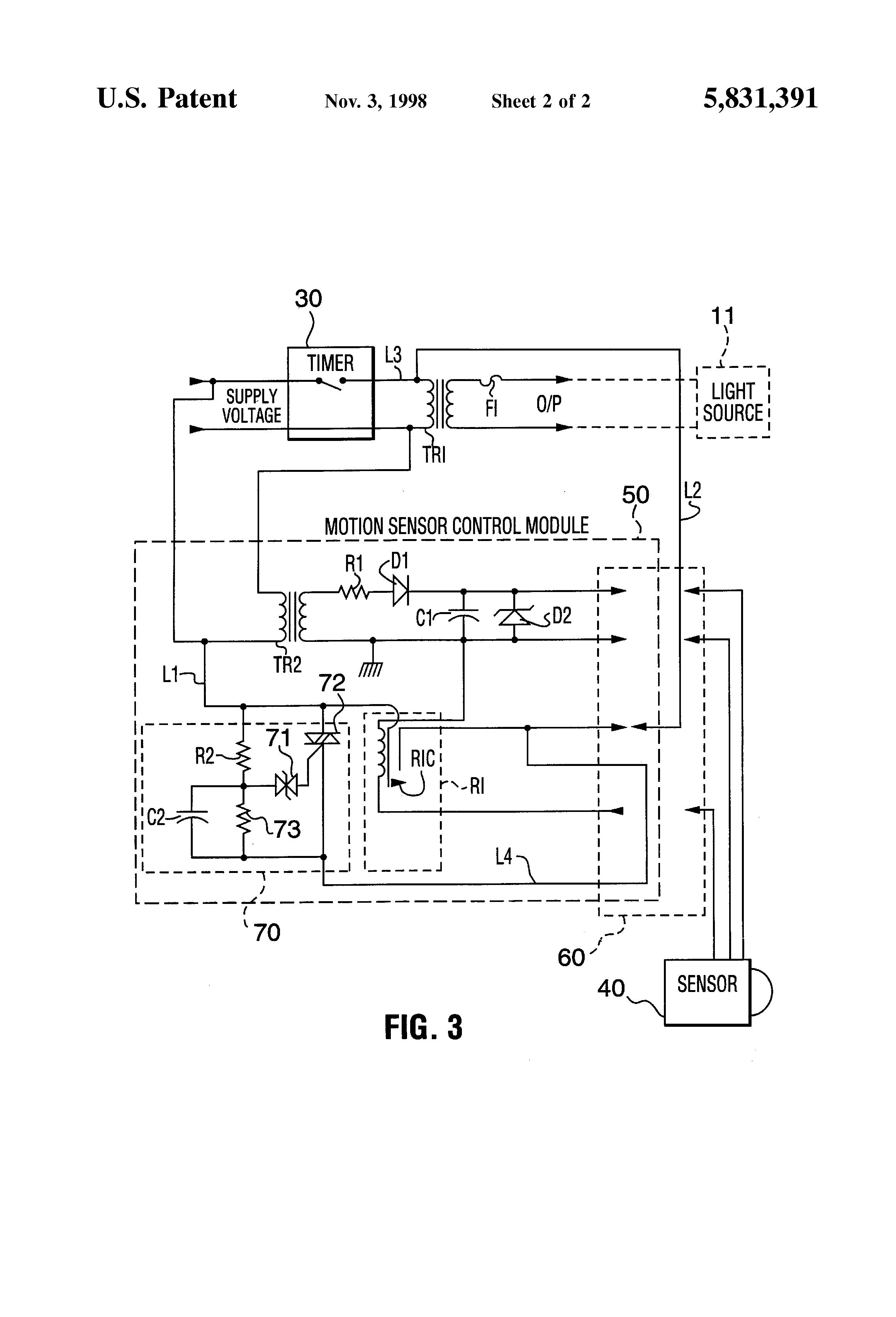 Intelectron Motion Detector Wiring Diagram