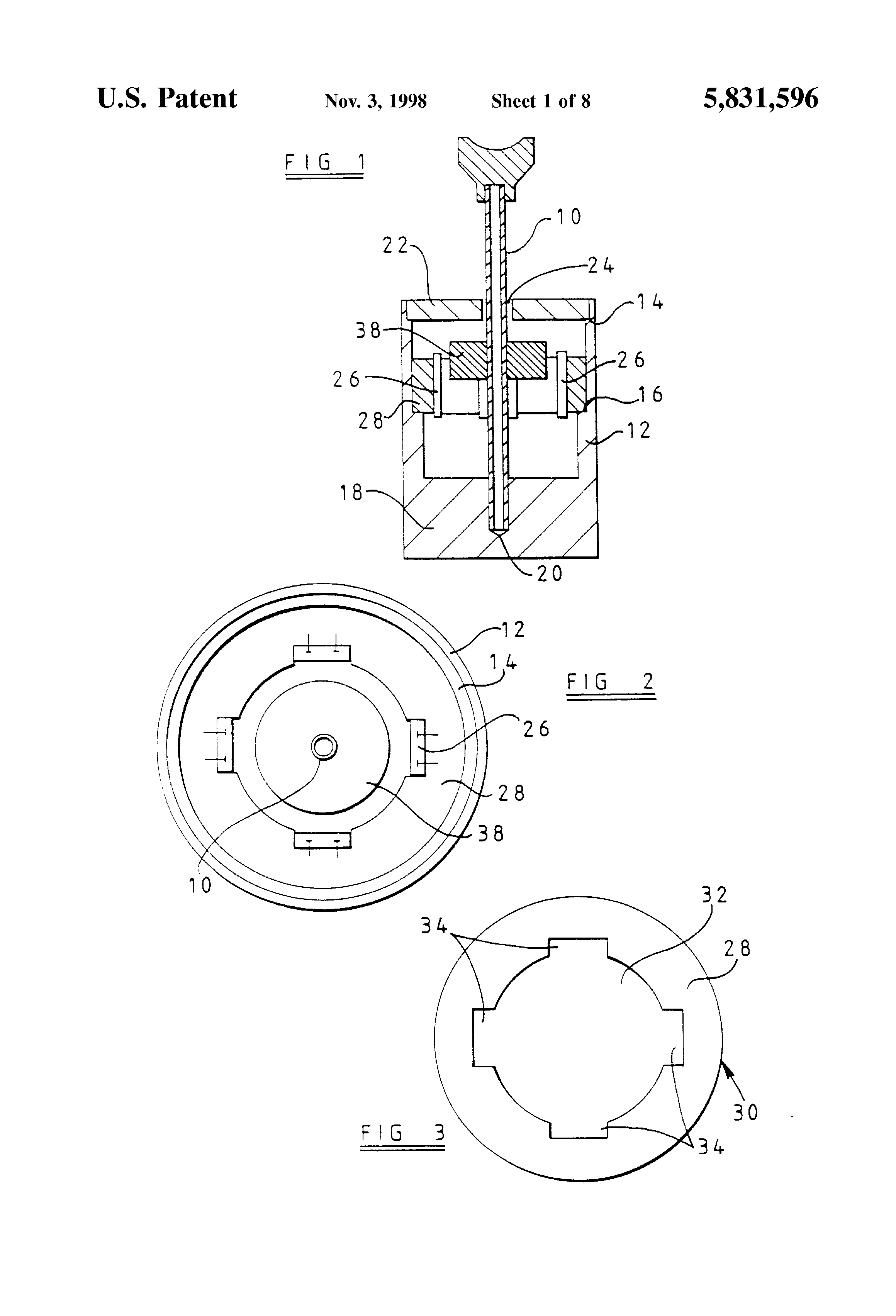 US5831596 1 patent us5831596 joystick controller using magnetic position sauer danfoss joystick wiring diagram at cos-gaming.co