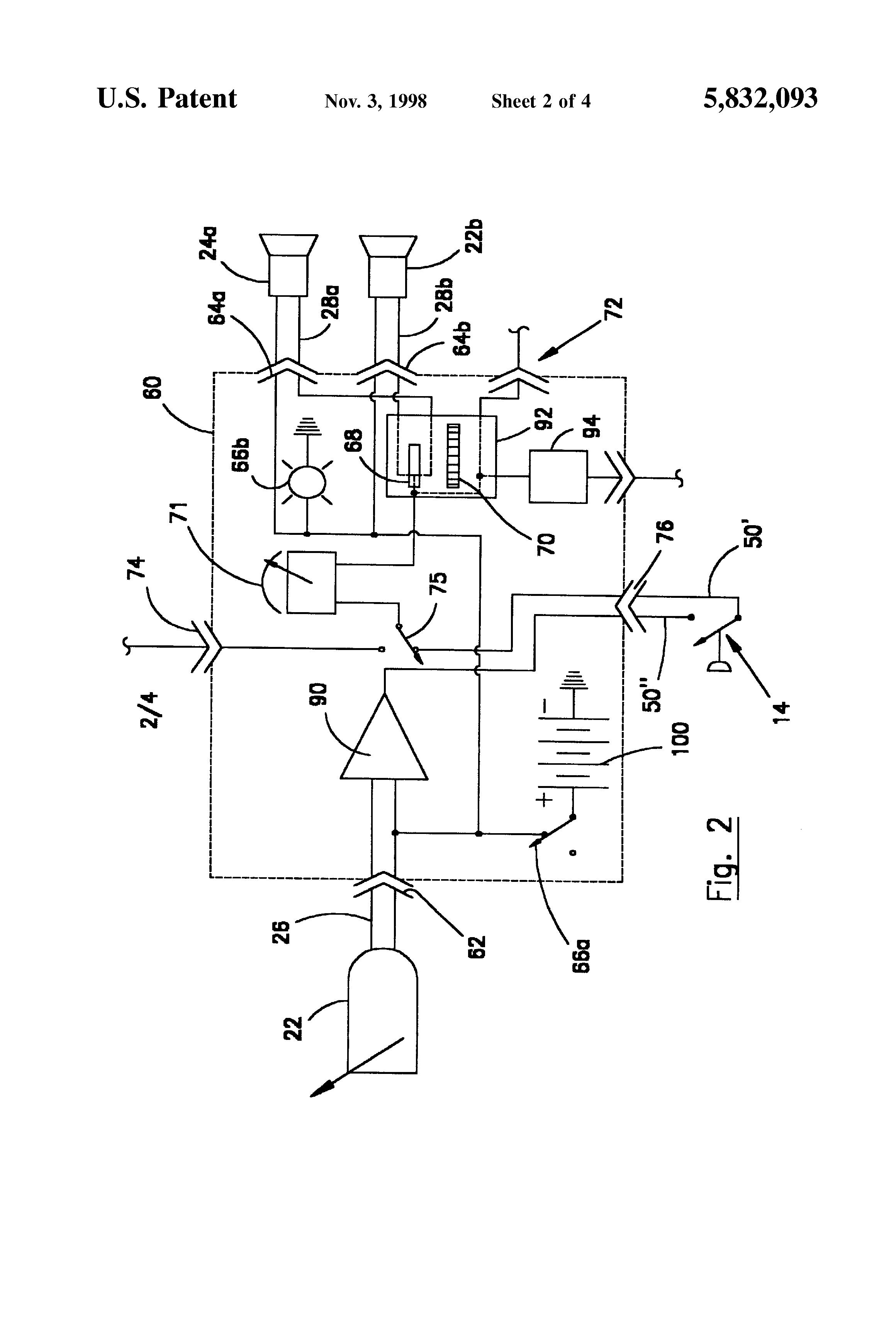 patent us5832093